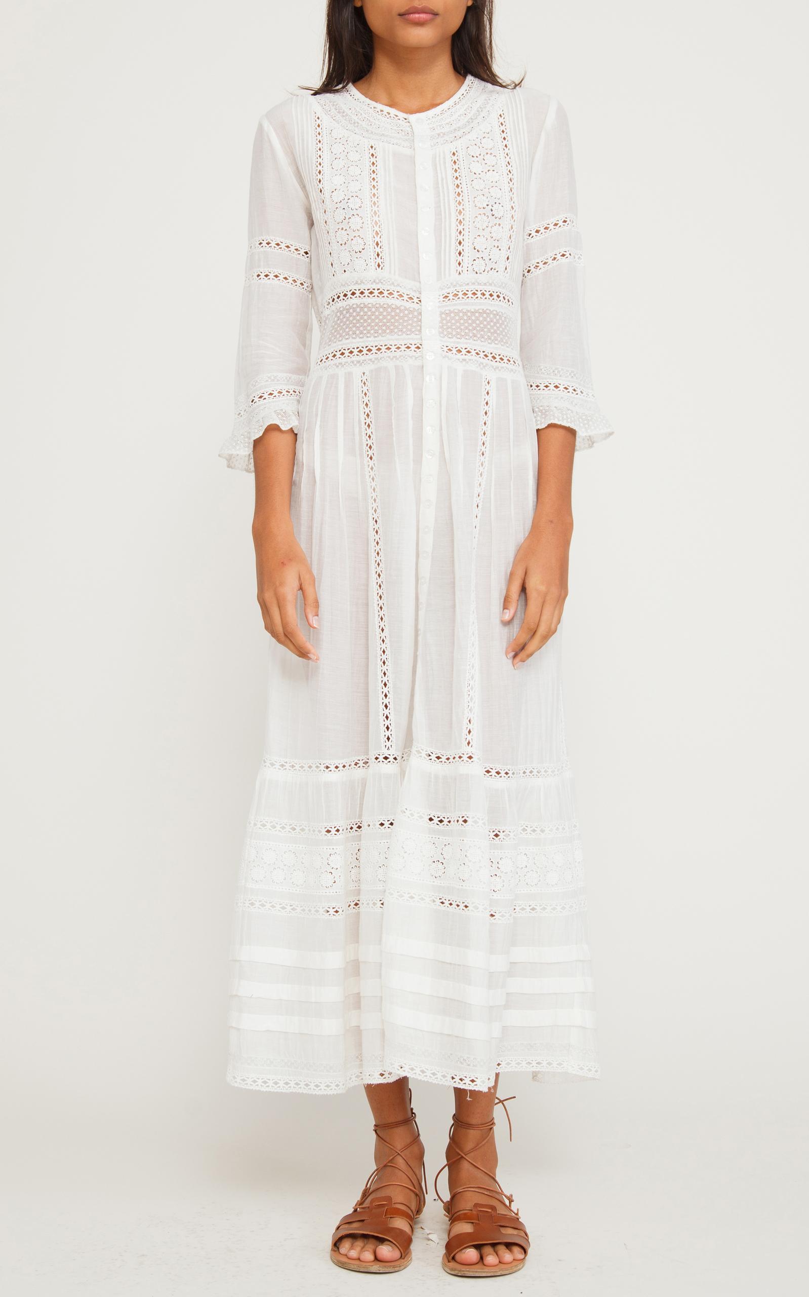 8874d9cb5b64 Sevi Lace Maxi Dress by Sea