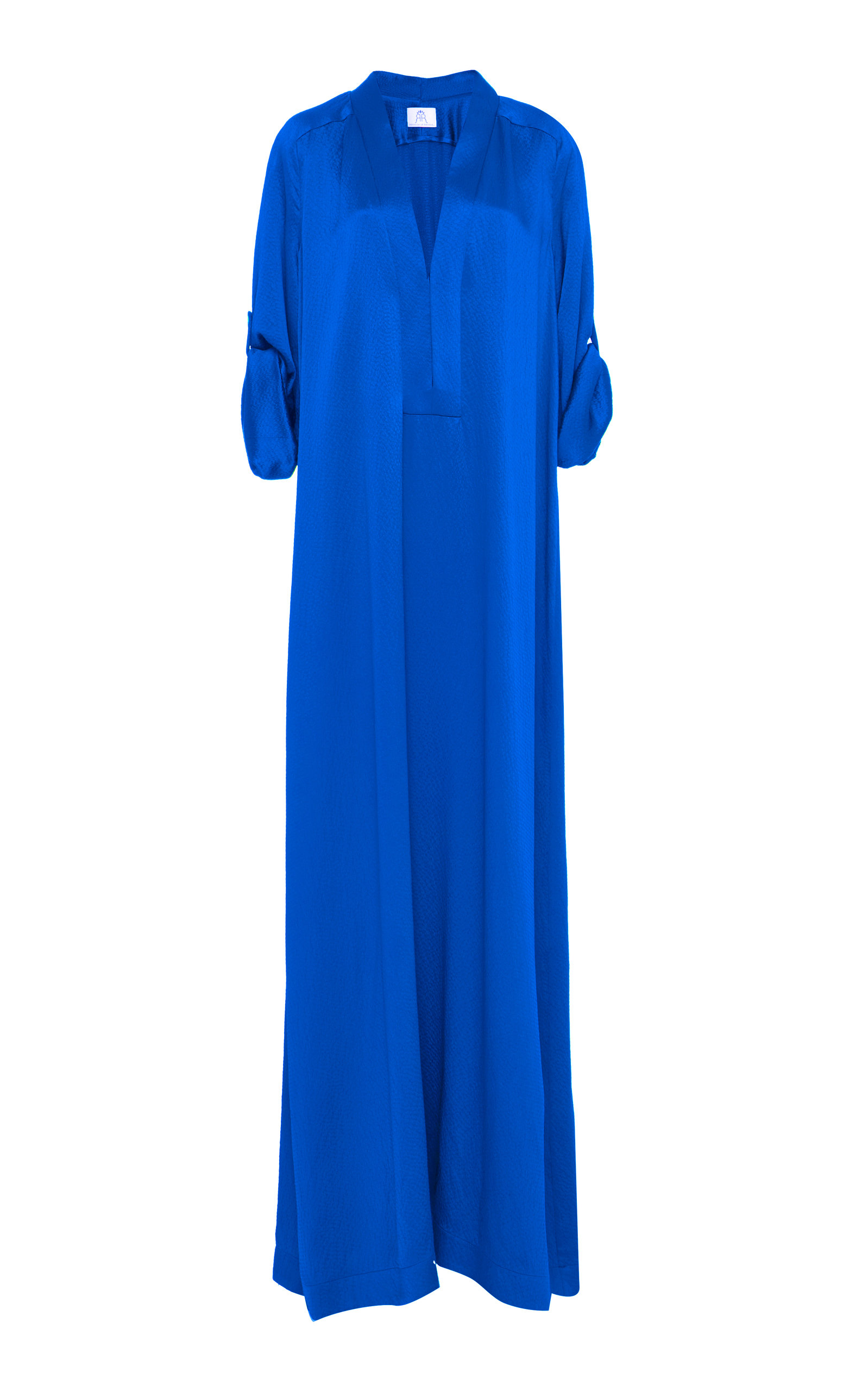 The Athena Caftan in Blue