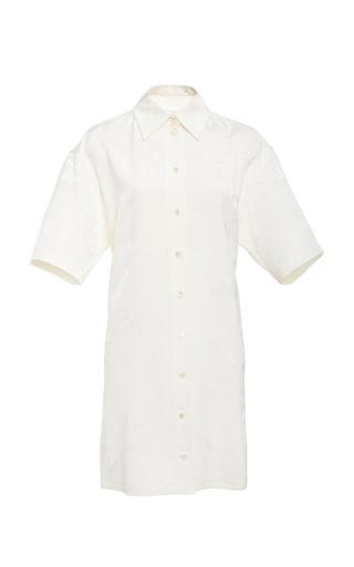 7035f7d3a0744 Victoria BeckhamFloral Cloqué Shirt