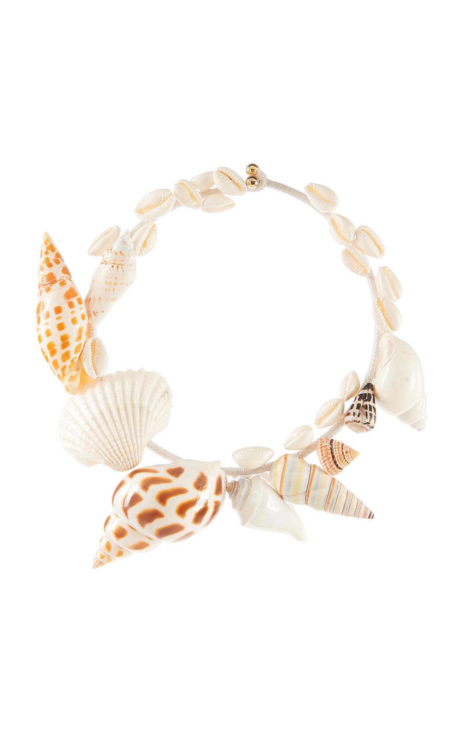 White Multicolor Athena Necklace