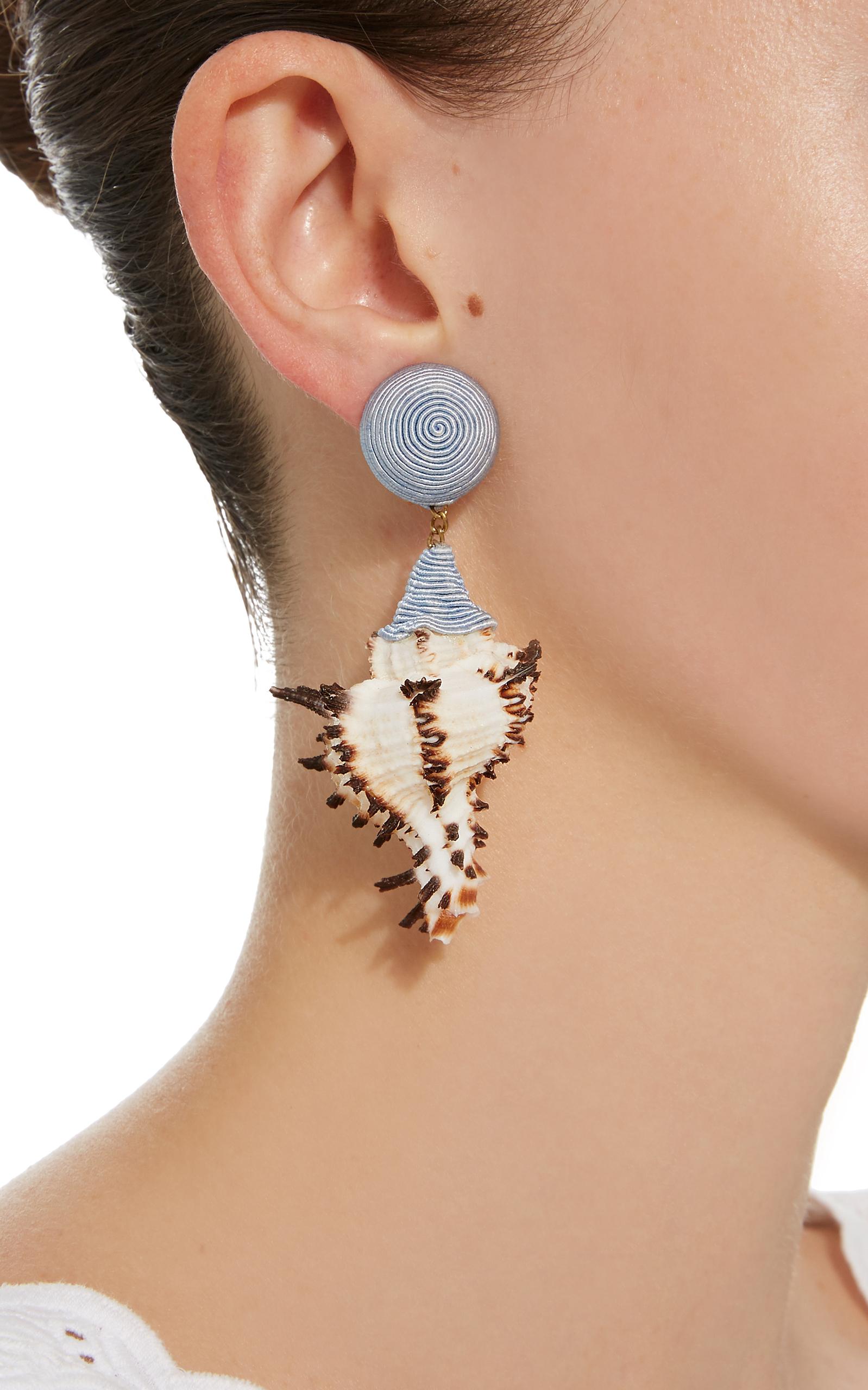 Ophelia Tan Earrings Rebecca de Ravenel 3BdqGBZ