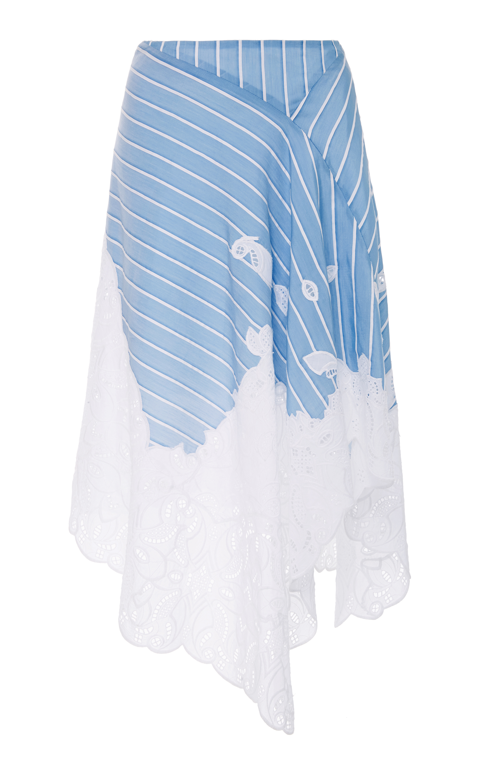 Striped cotton and silk-blend dress Jonathan Simkhai Hn6QN8