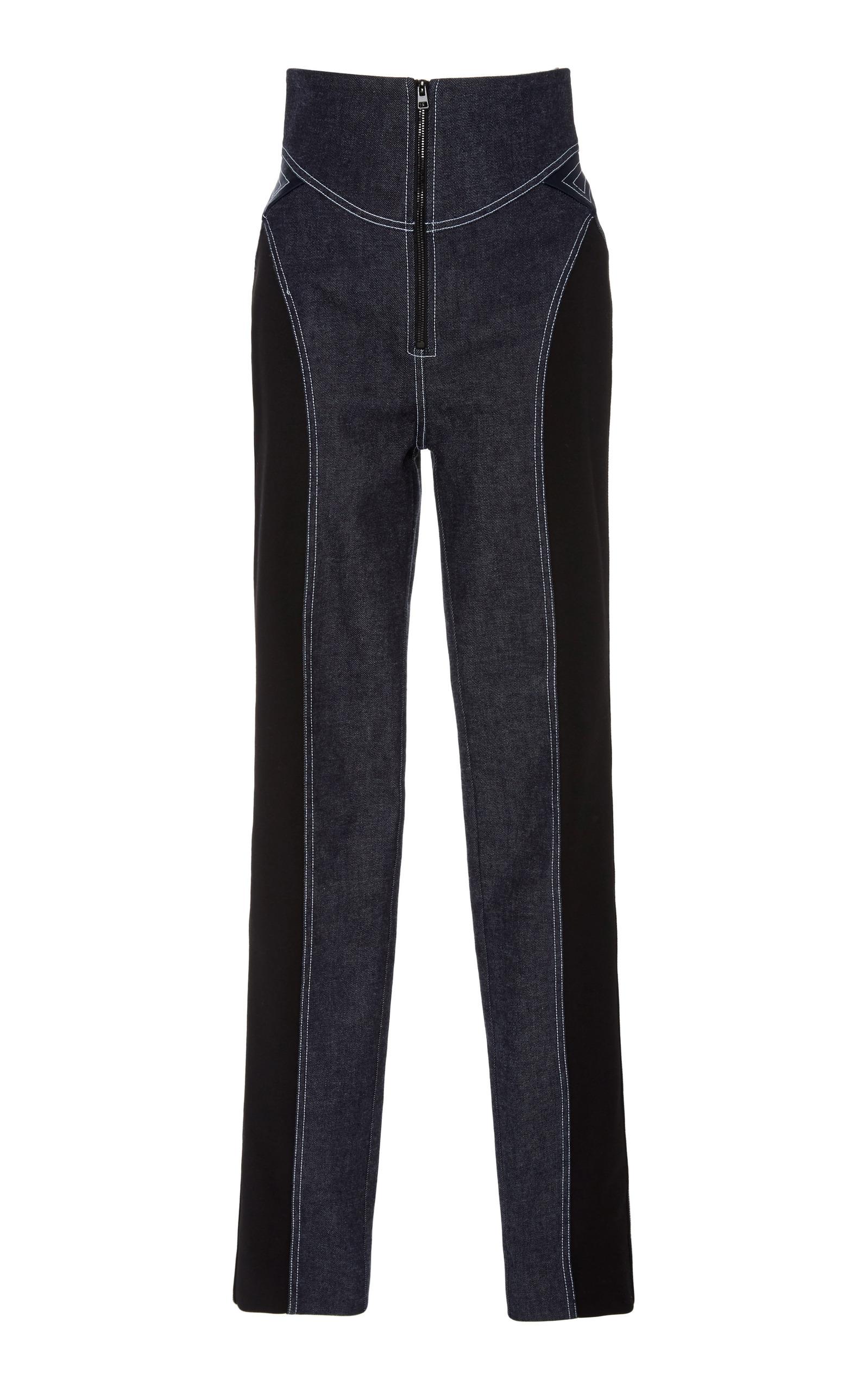 bed0dd397 High Waisted Zip Front Jean by Diane von Furstenberg | Moda Operandi