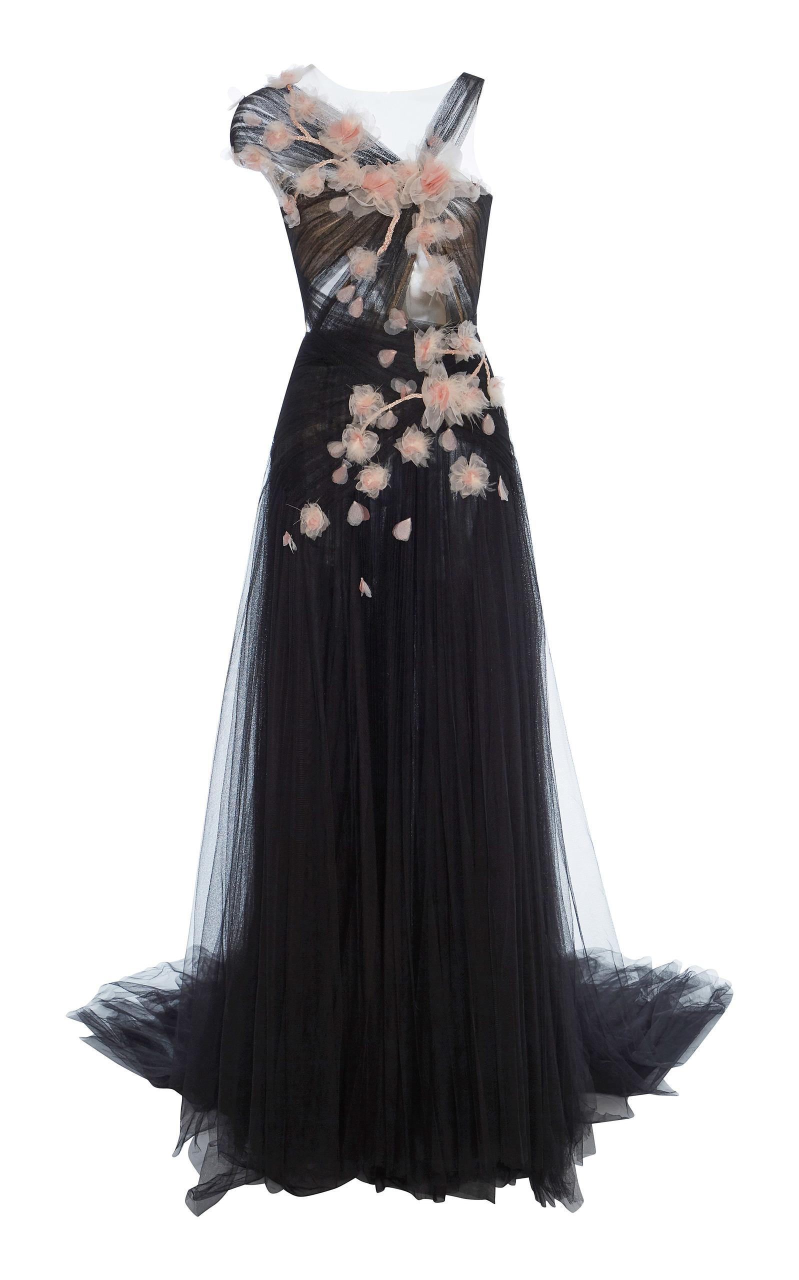 Tulle Grecian Gown by Marchesa | Moda Operandi