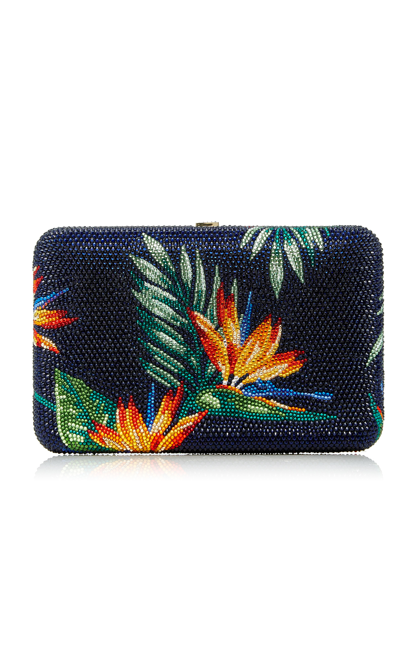 Wholesale Price Cheap Online Clearance Sneakernews Seamless Bird Of Paradise Clutch Judith Leiber New c119Jv2j