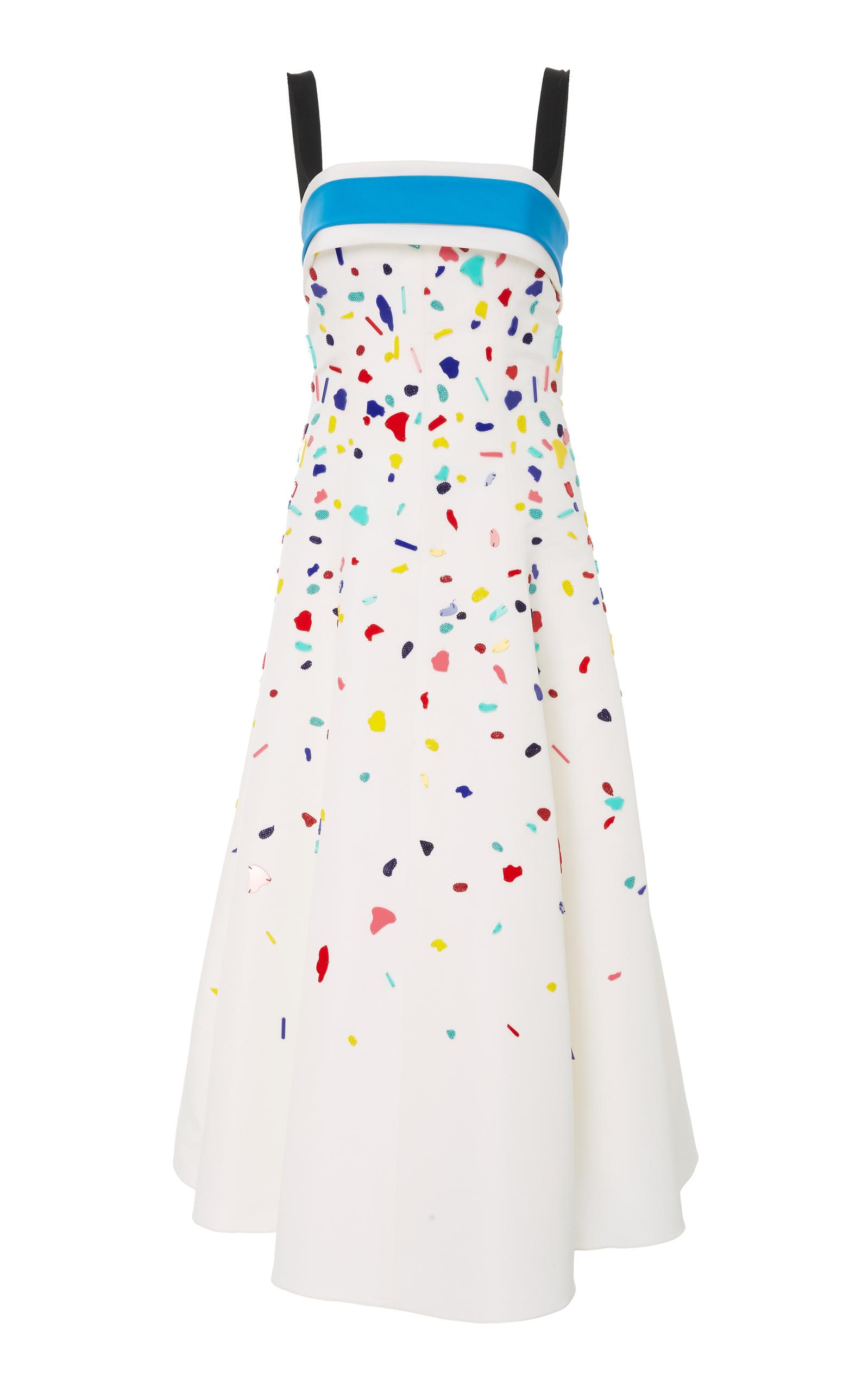 e0975236420ad Embroidered Confetti Dress