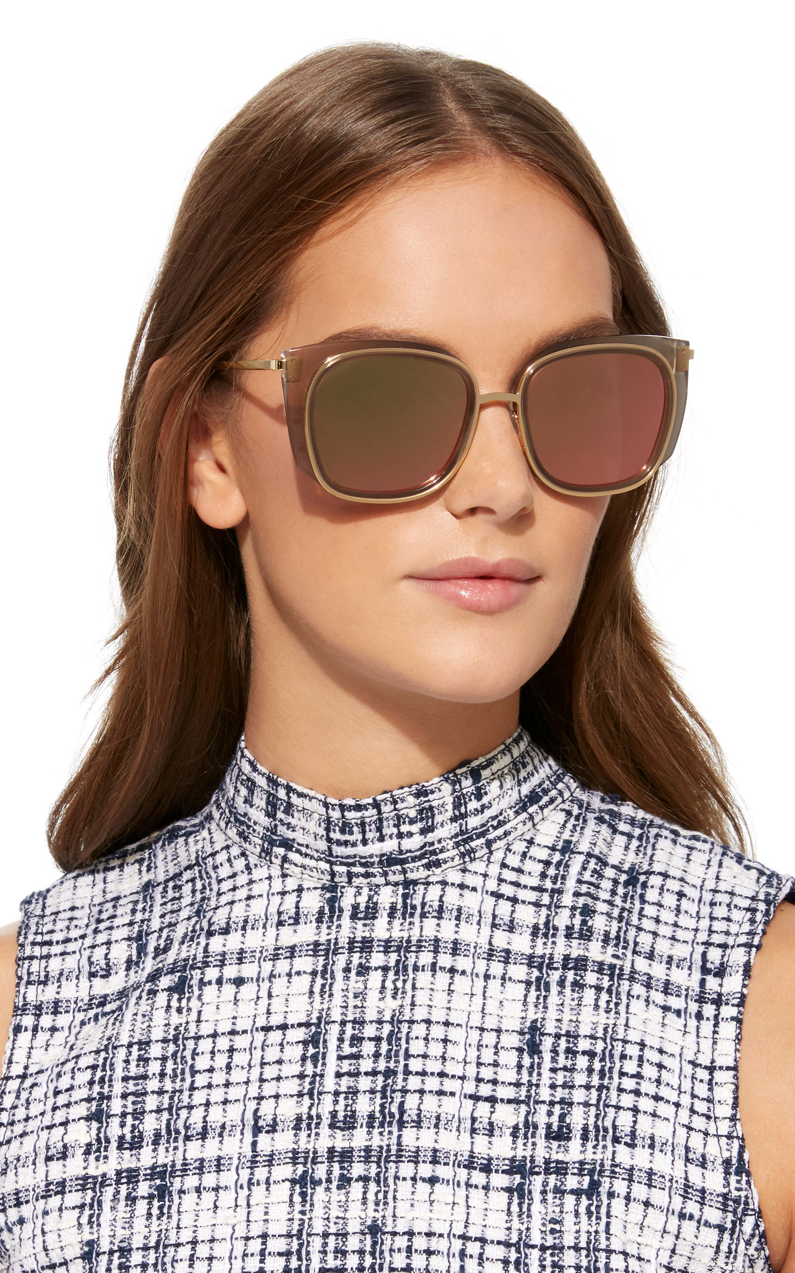 b637b781842 THIERRY LASRY EVERLAST SQUARE-FRAME ACETATE SUNGLASSES