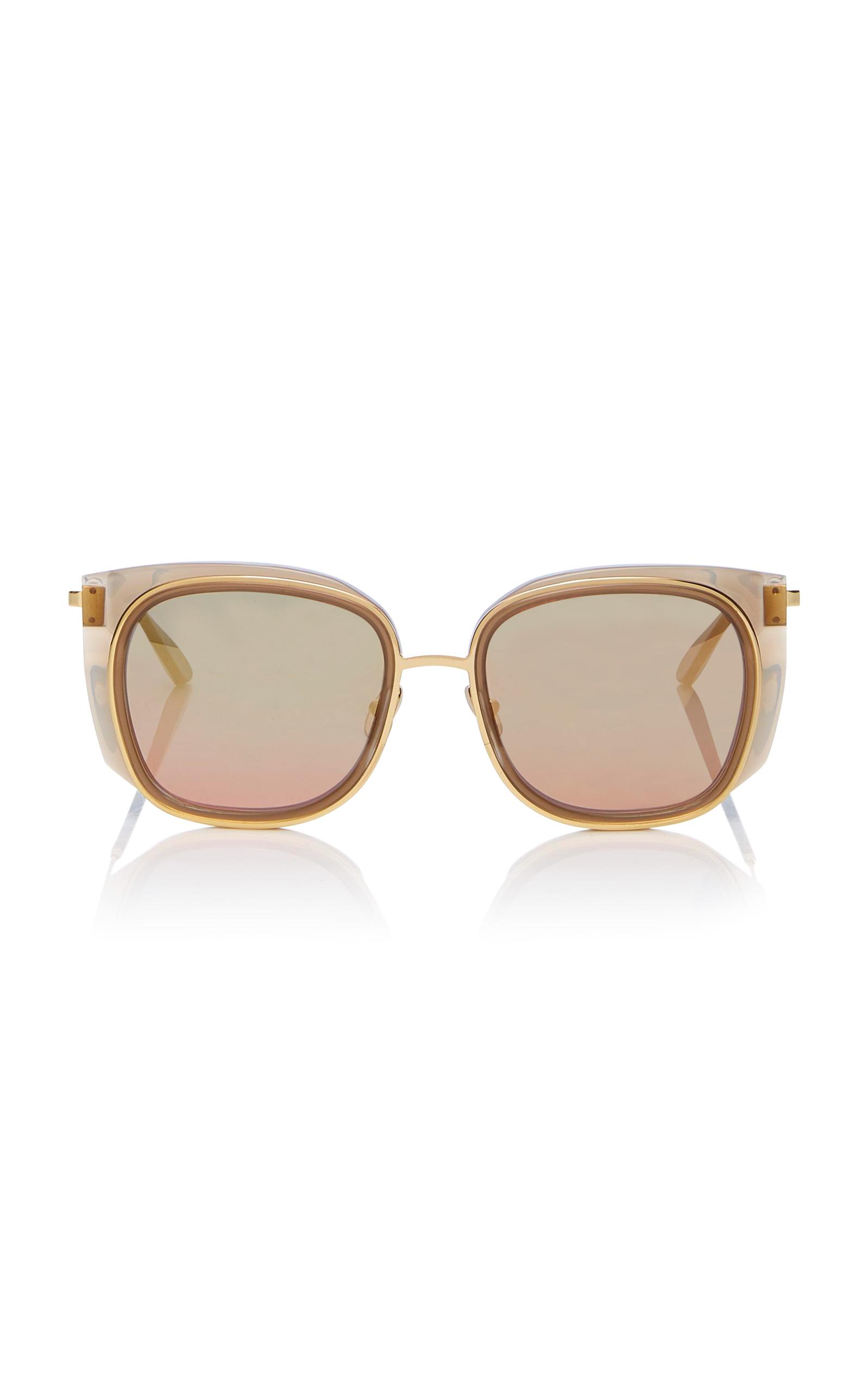 Everlasty Square-frame Acetate And Gold-tone Sunglasses - Black Thierry Lasry eZdZhaCdm