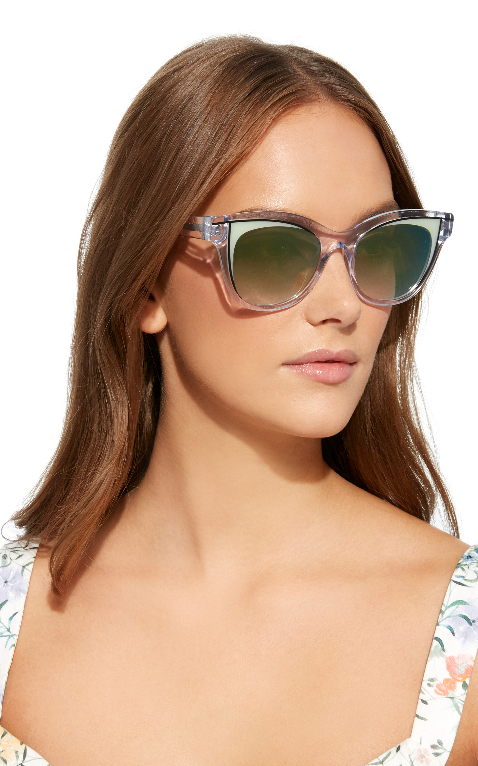 3ed4be64722 THIERRY LASRY FRIVOLTY ACETATE BUTTERFLY-FRAME CLEAR SUNGLASSES ...