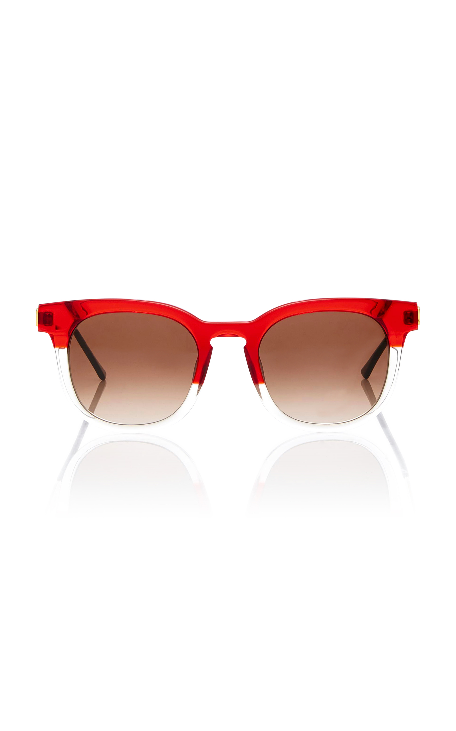 Penalty Champagne-Red Tone Acetate Sunglasses Thierry Lasry RvbmOjh