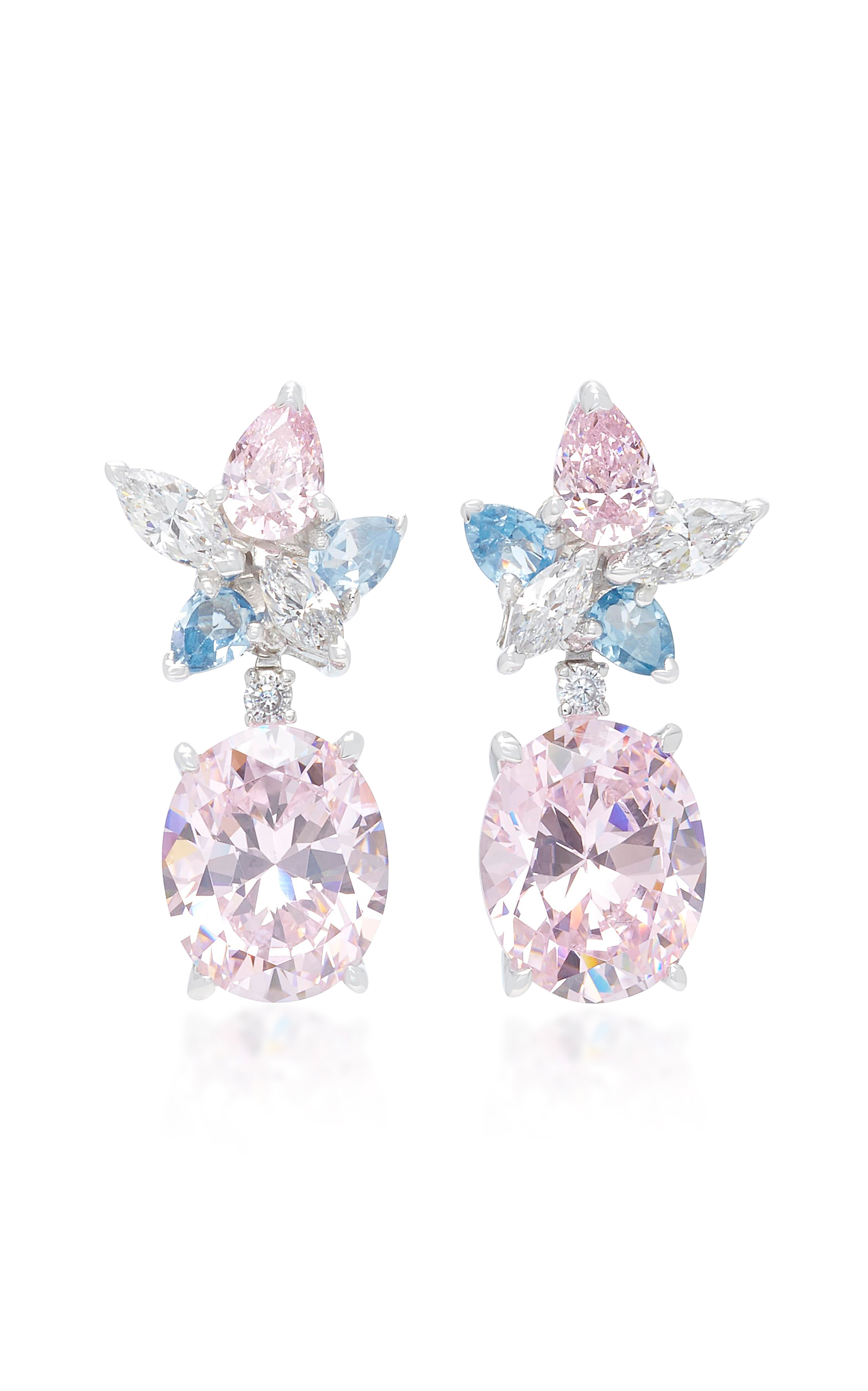 ANABELA CHAN M'O Exclusive Blush Lily Earrings in Pink