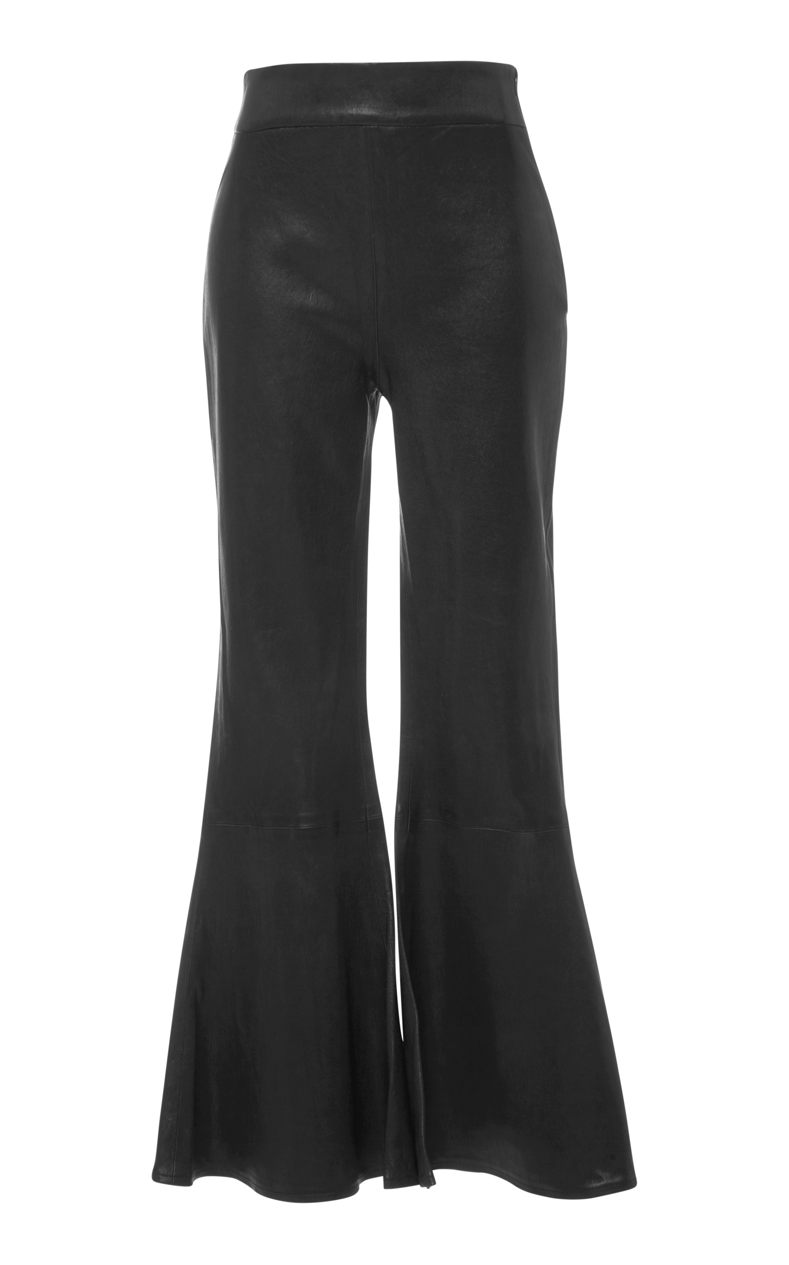 Leather Cropped Flared Pants Frame Denim Wholesale Price Cheap Online dYxWbNt
