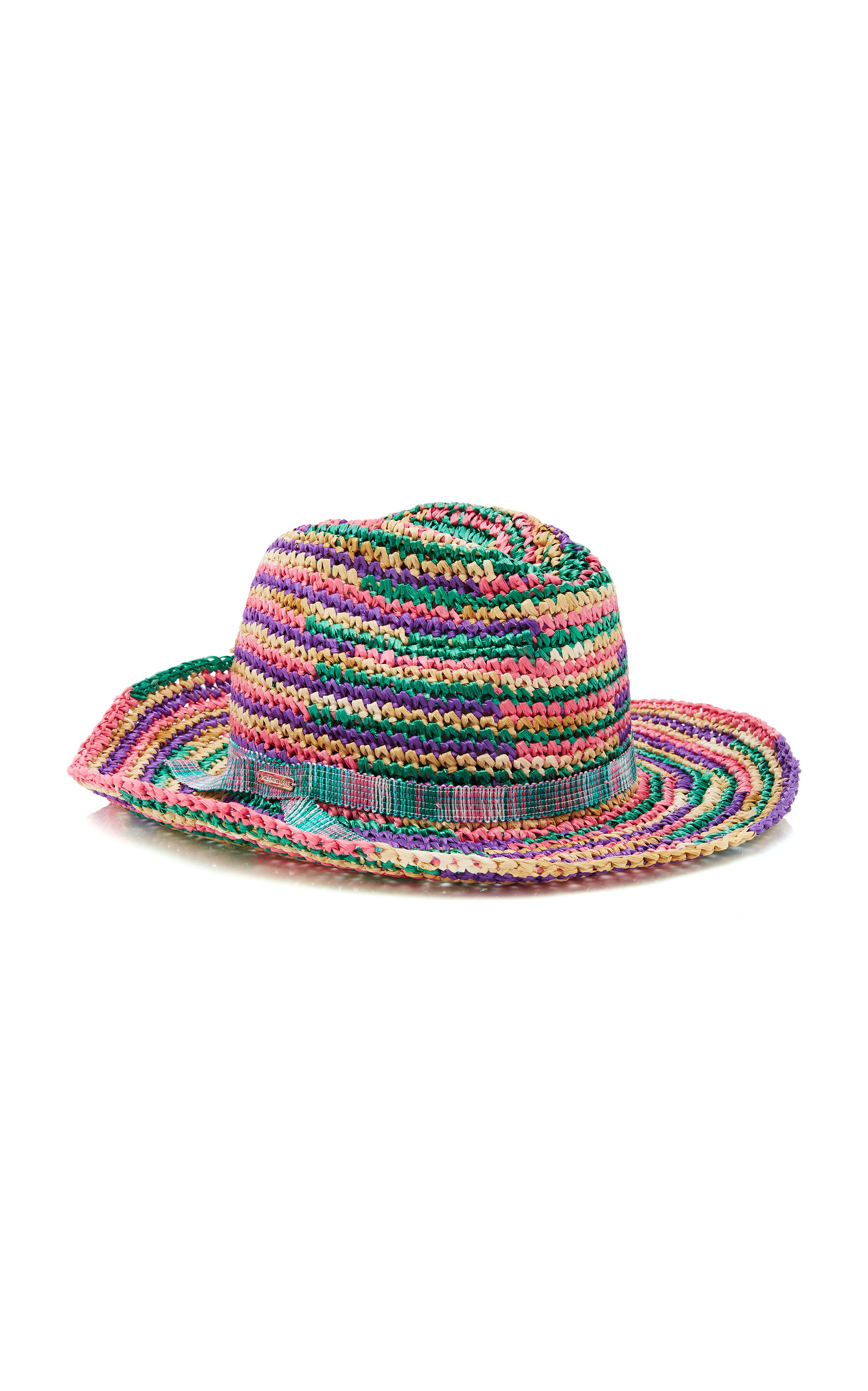 Multicolored Braided Hat Missoni 8KgOz7JHXf