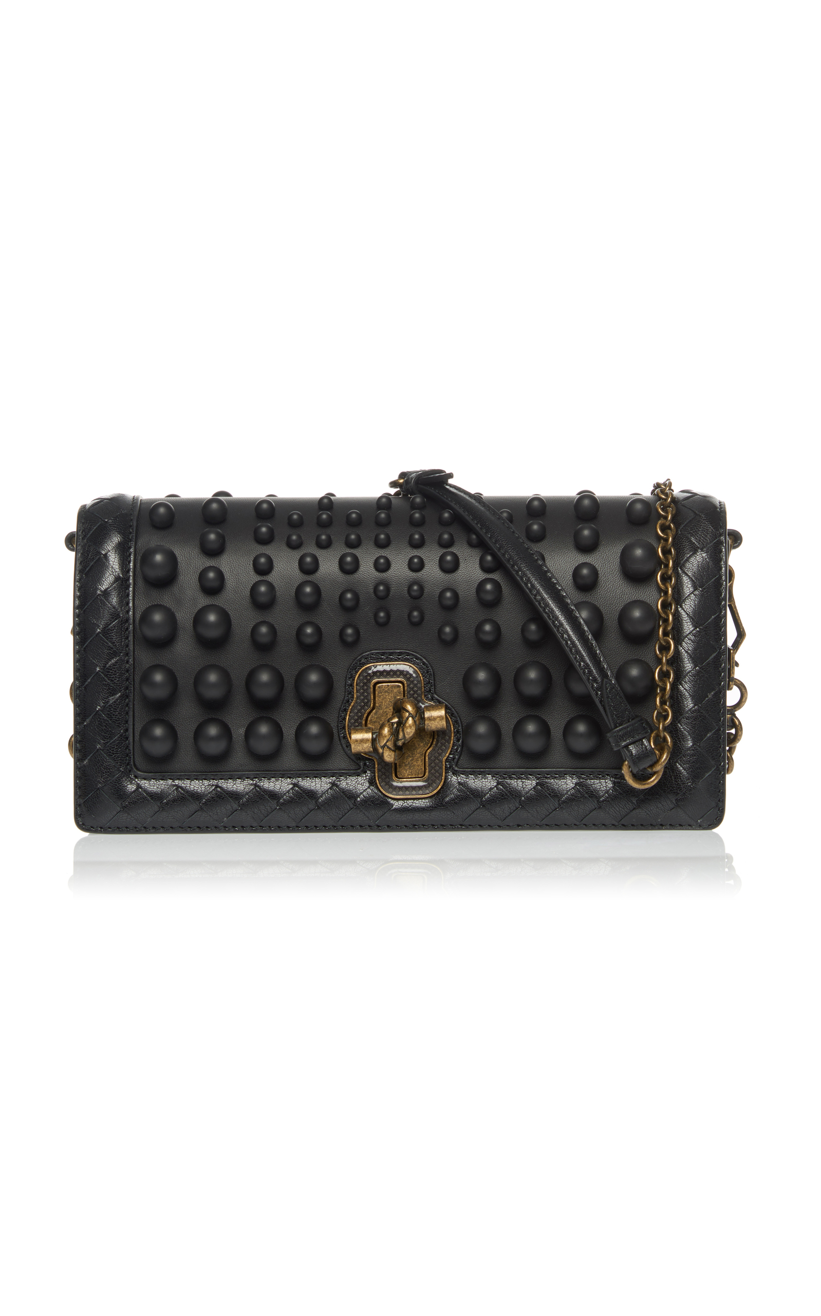 70b264d8dc5a Small Clutch Knot with Spheres by Bottega Veneta