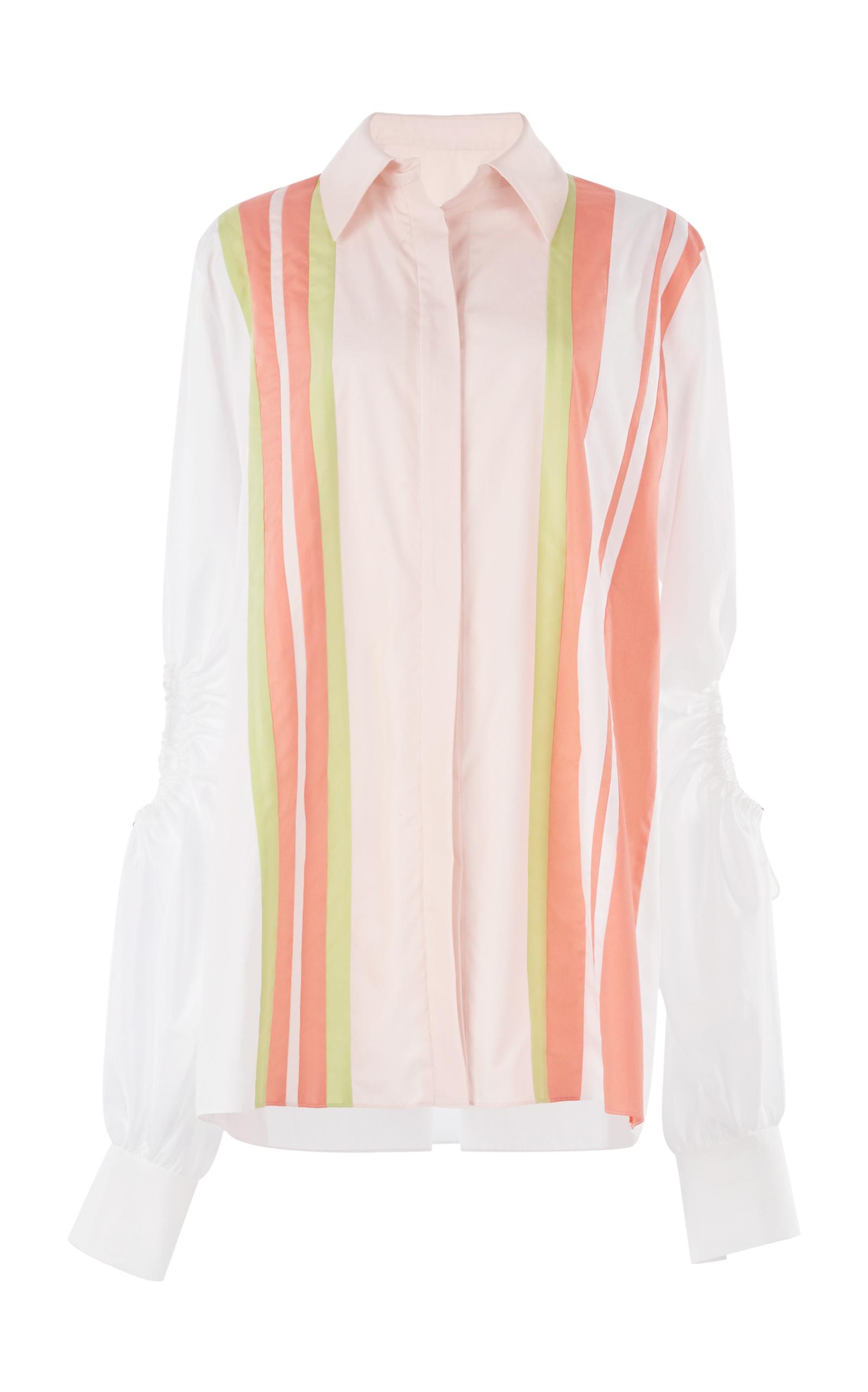 Peter Pilotto striped longline shirt Low Price Online 7rwcbOO