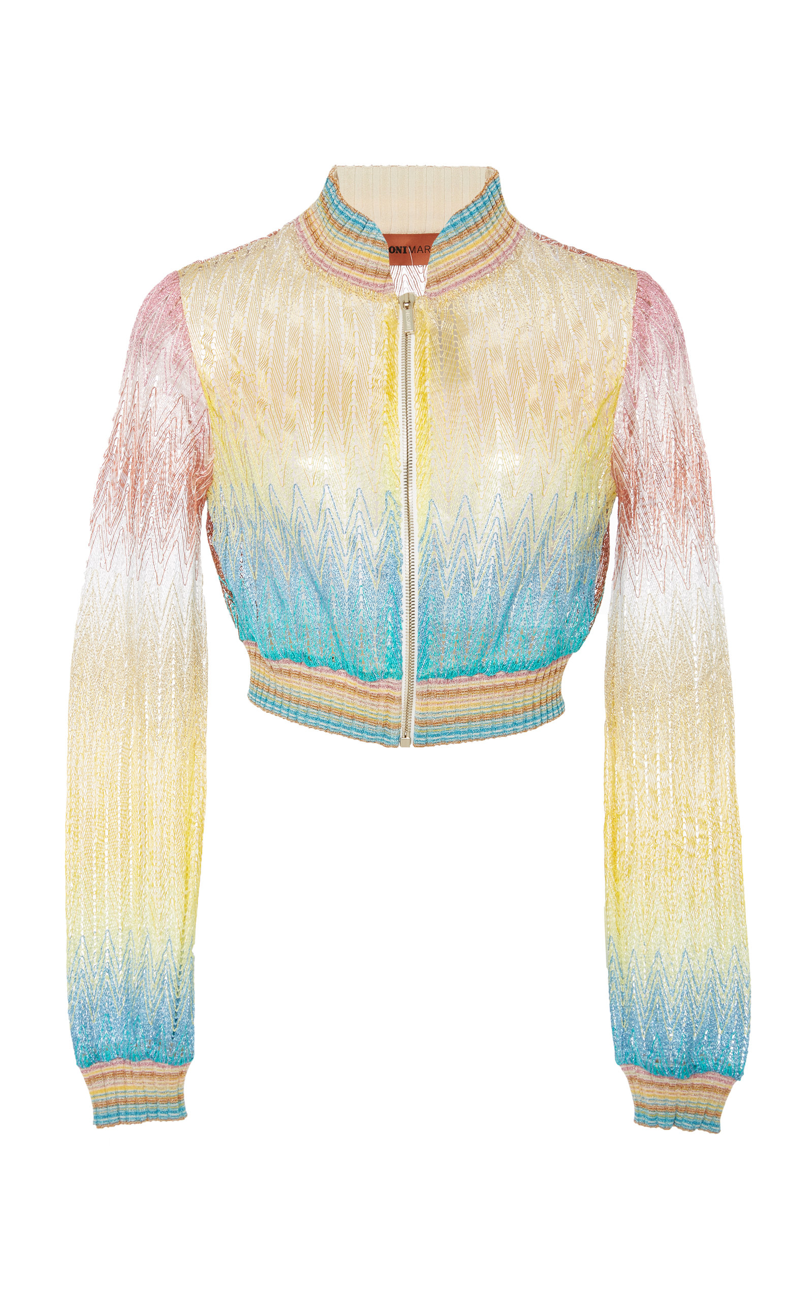 PRINTED BOMBER COVERUP JACKET
