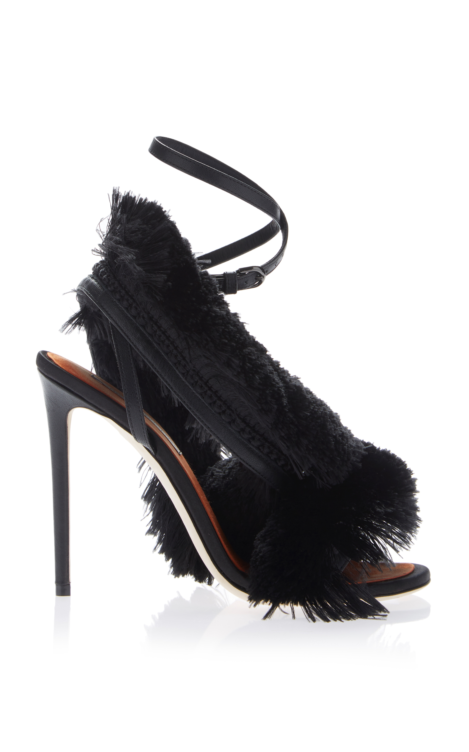 MARCO DE VINCENZO Fringed sandals GK7oPbSvL