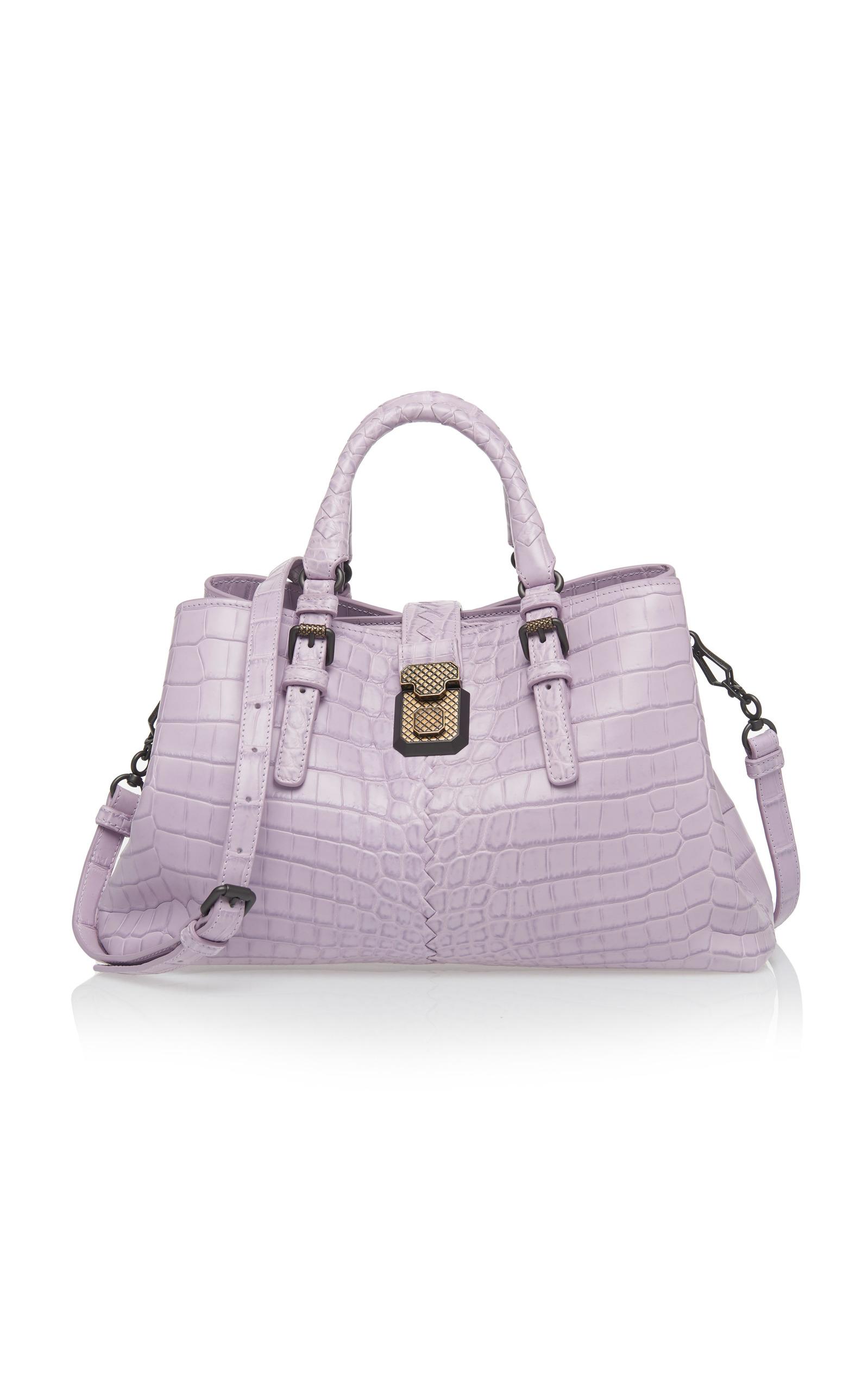 34db59e2337d Bottega Veneta Small Roma Tote In Purple