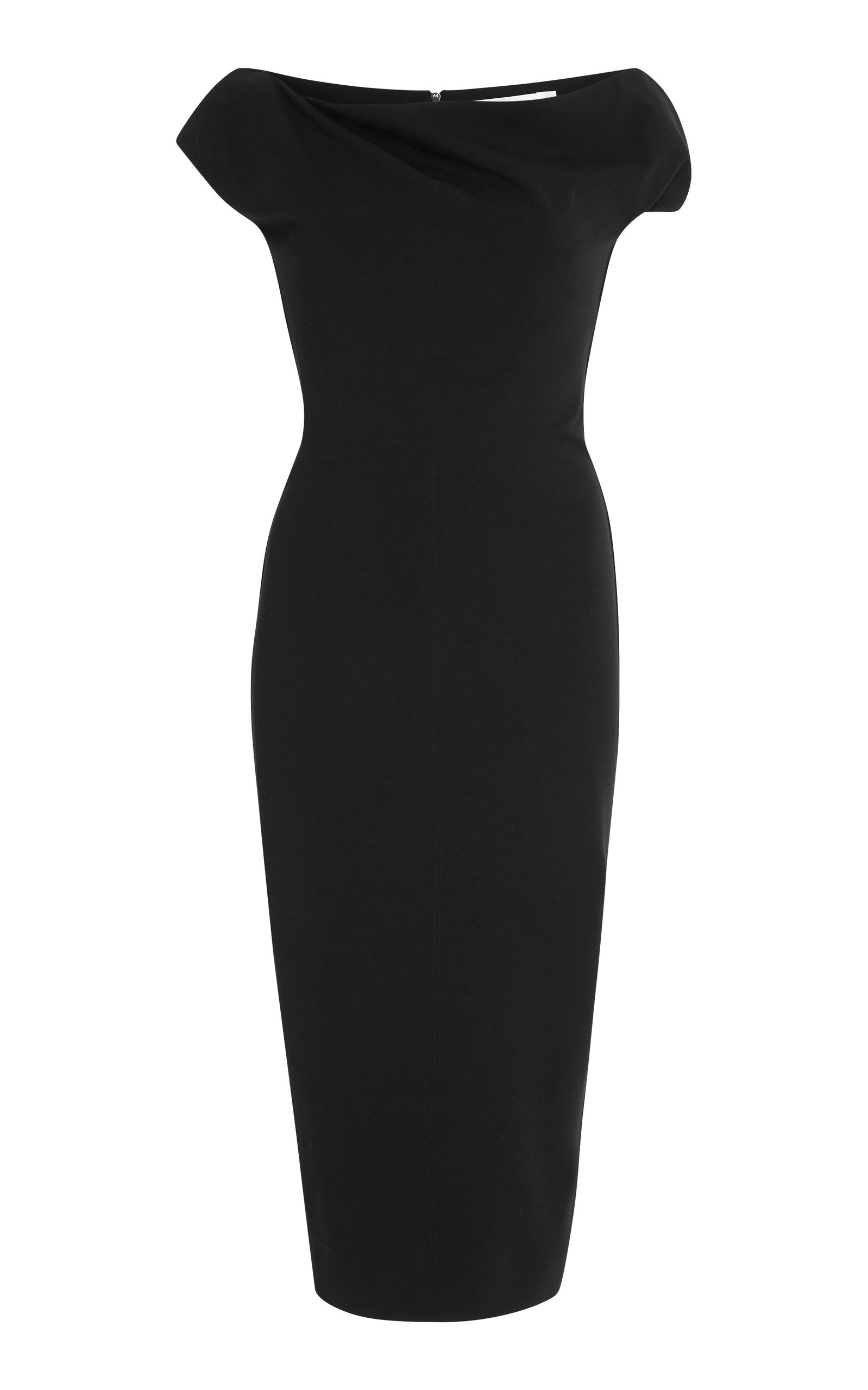 Buy Cheap Genuine Clearance Low Cost Draped Jersey Dress Victoria Beckham Largest Supplier Online jxESa8E