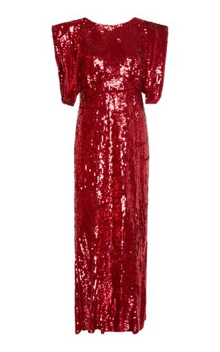 Sequined Maxi Dress By Attico Moda Operandi