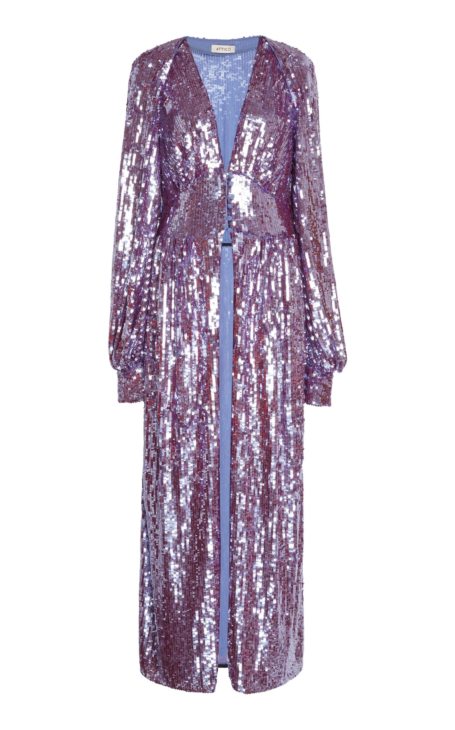 Long Sequin Dress by Attico | Moda Operandi