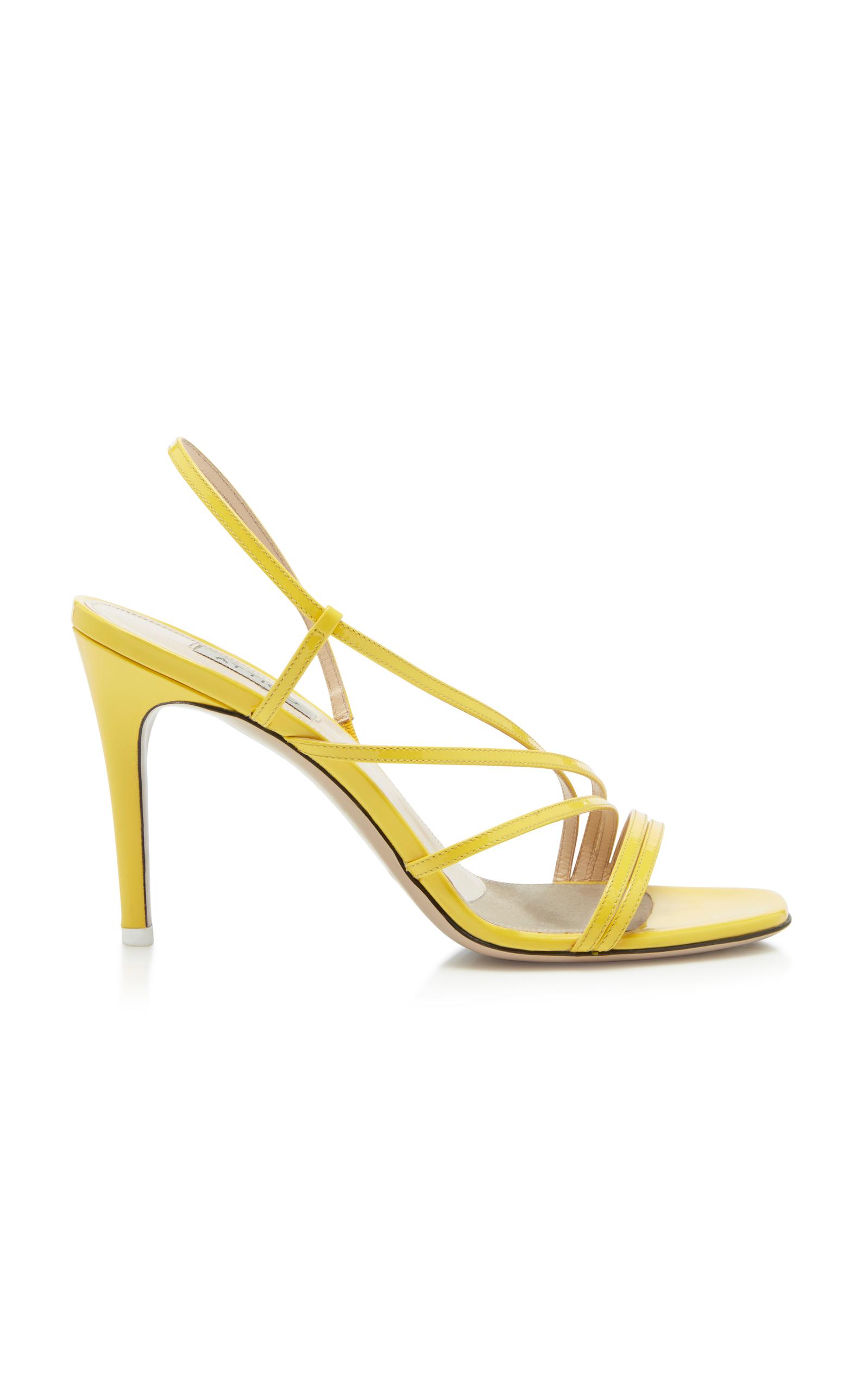 ATTICO Leather Sandals 5foqQR
