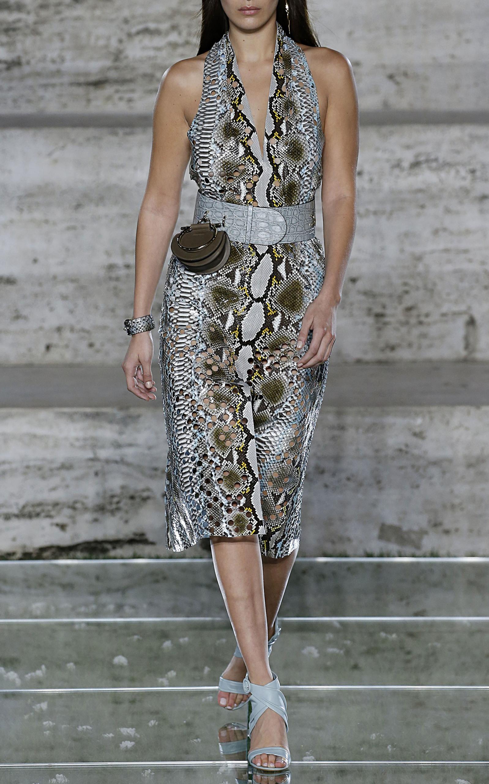 Laser Cut Python Dress
