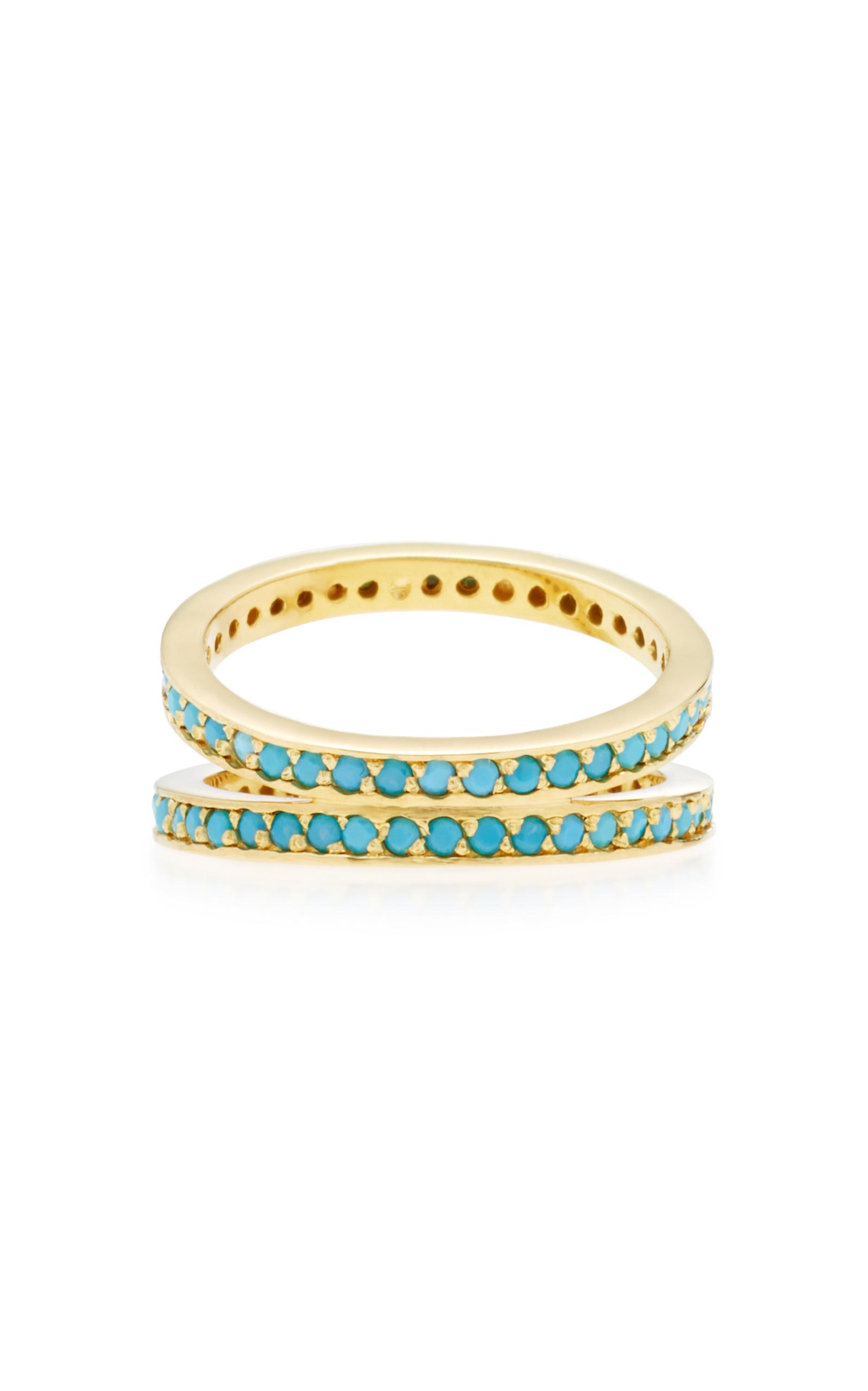 Gold-Plated Crisscross Ring Joanna Laura Constantine EfPBFSQVaa