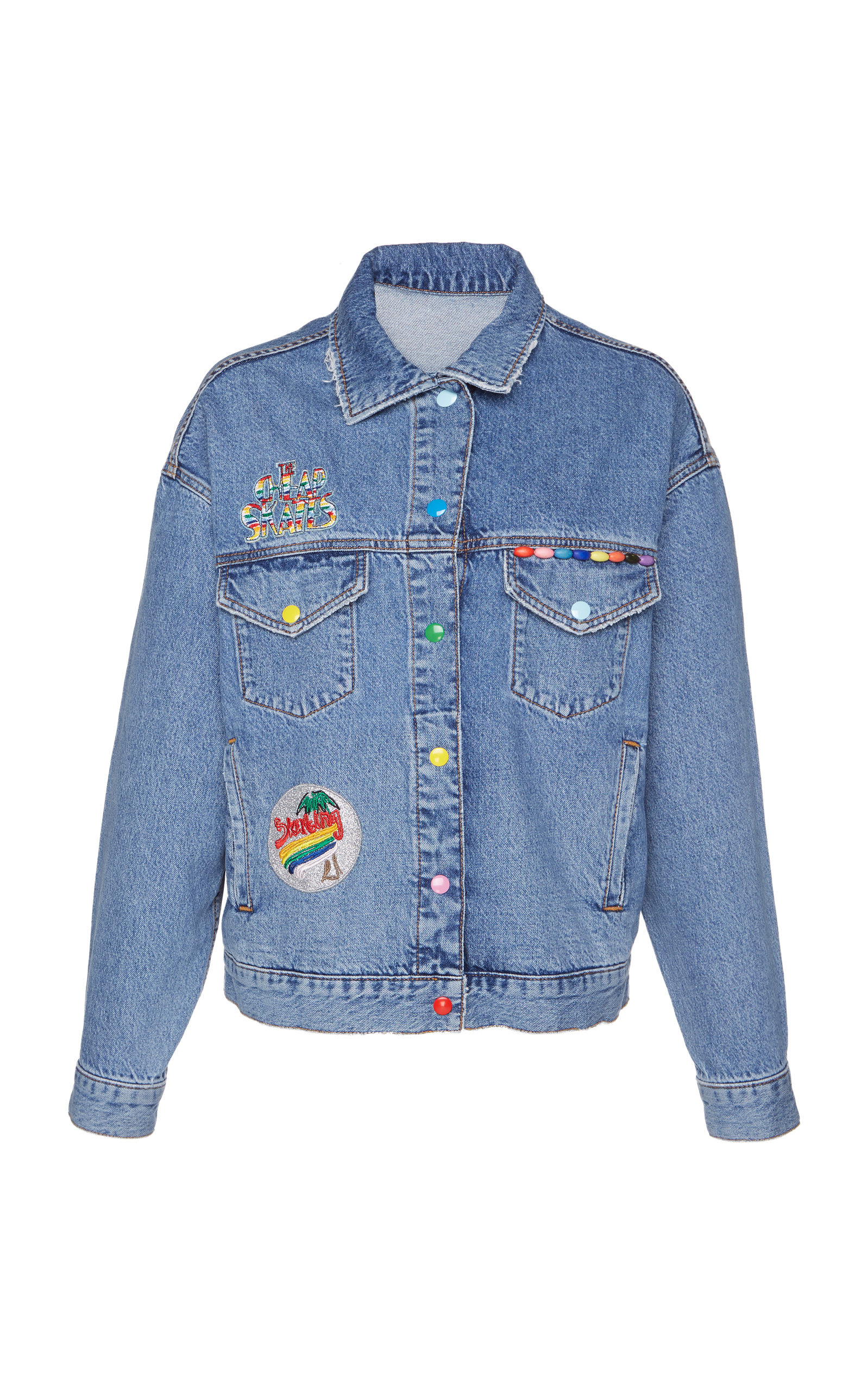 VENICE BEACH PATCHED DENIM JACKET