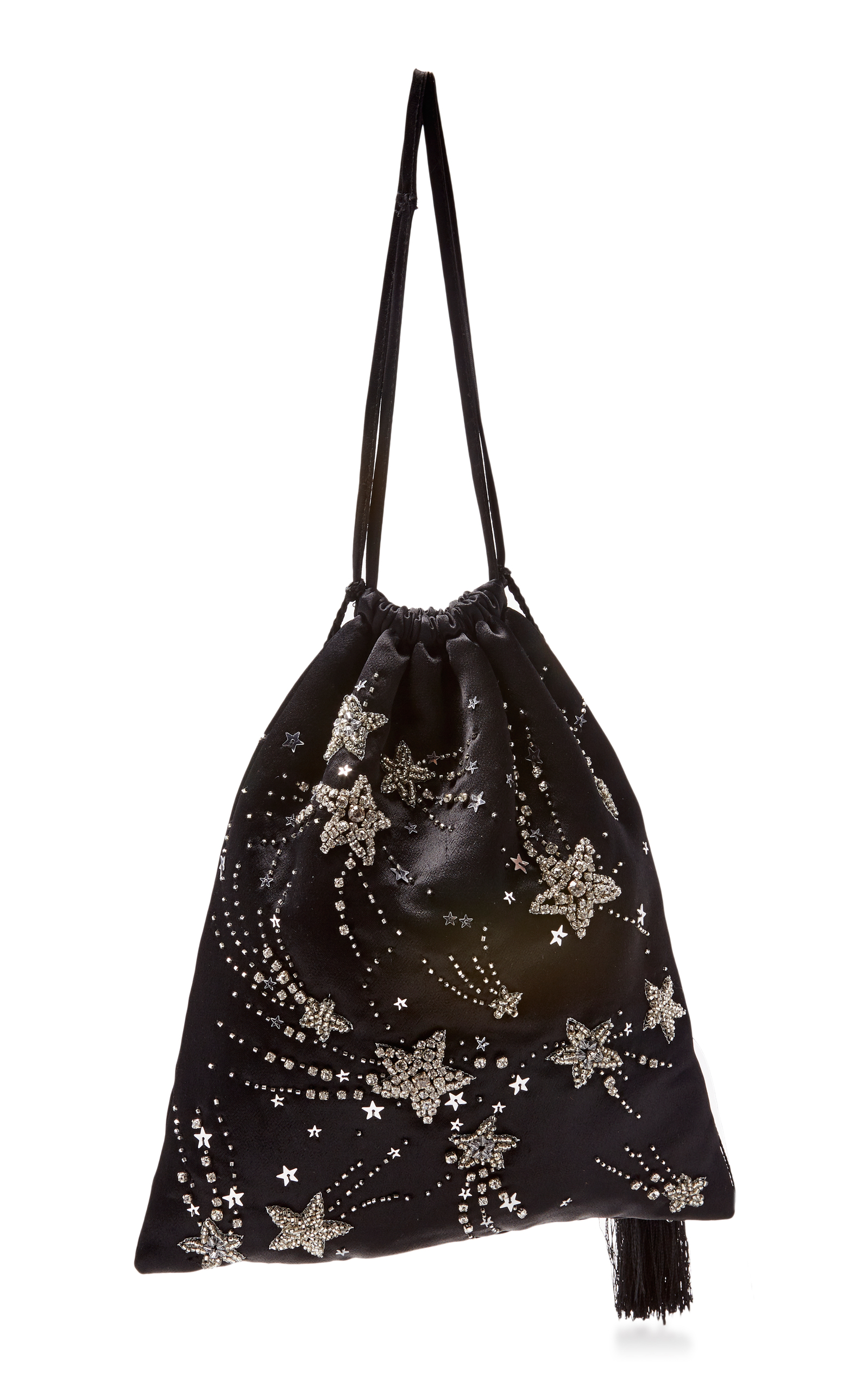 Attico Embellished Drawstring Bag SQimcVyrHY