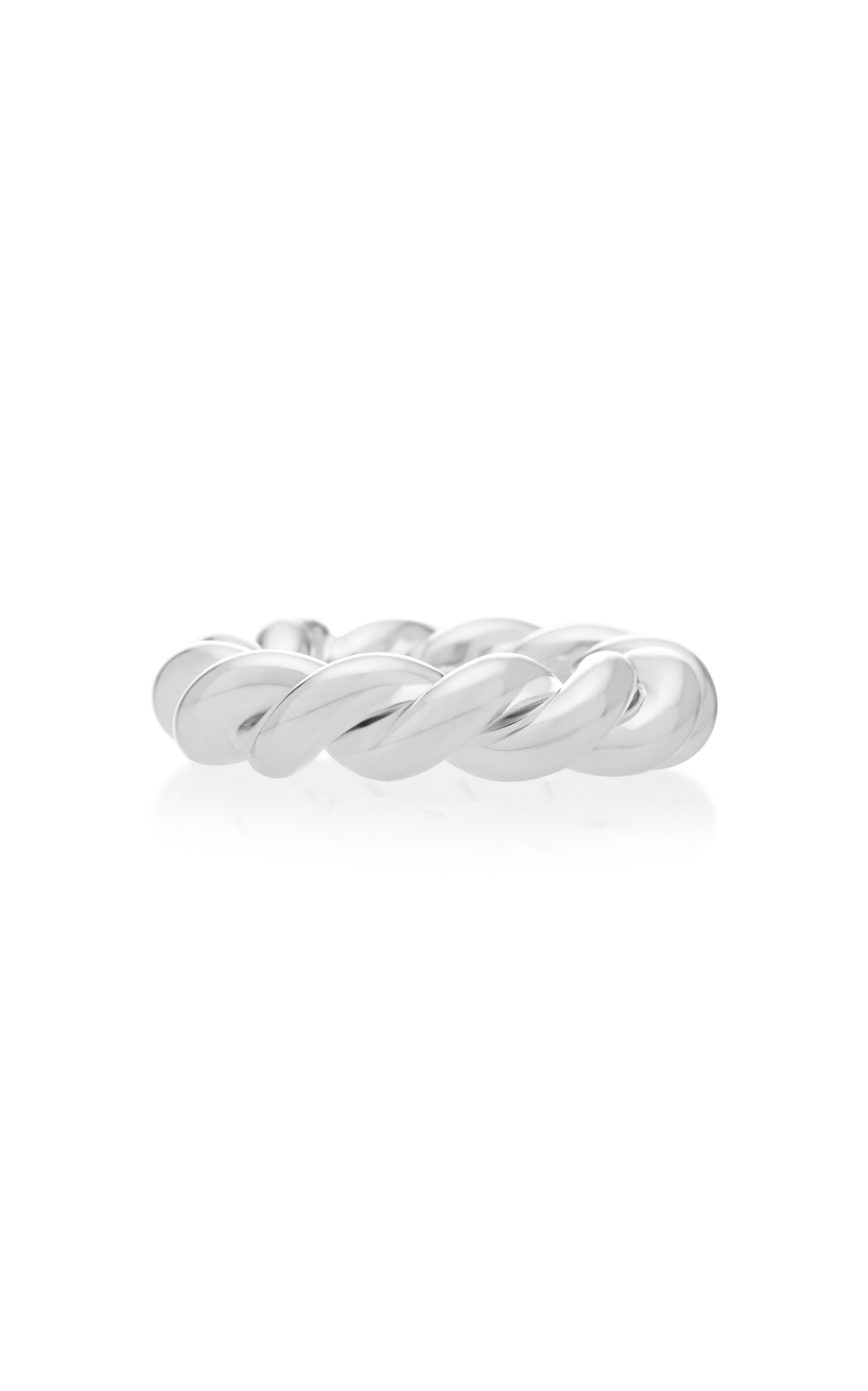 ISABEL LENNSE STERLING SILVER TWISTED RING