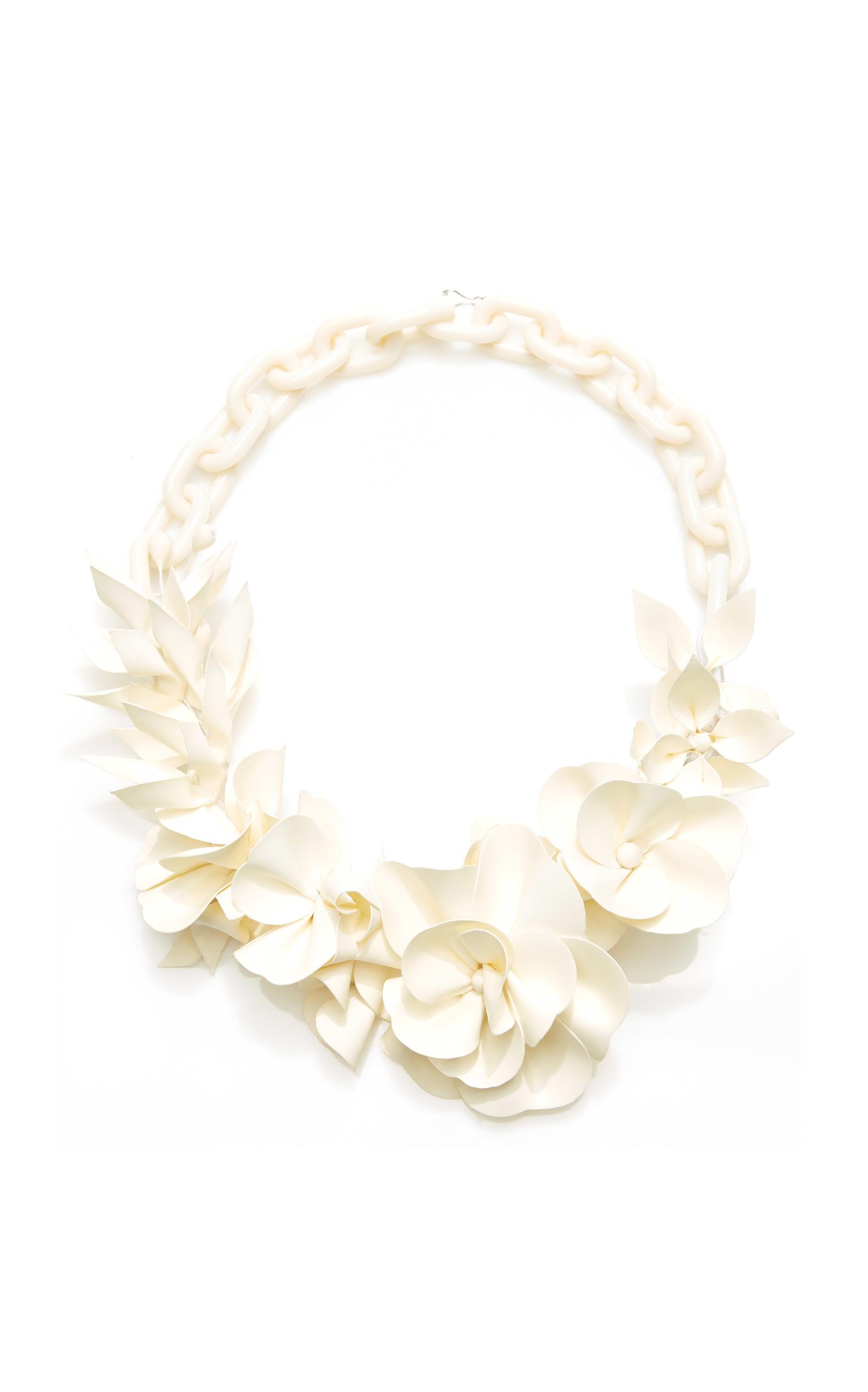 Honolulu flower necklace