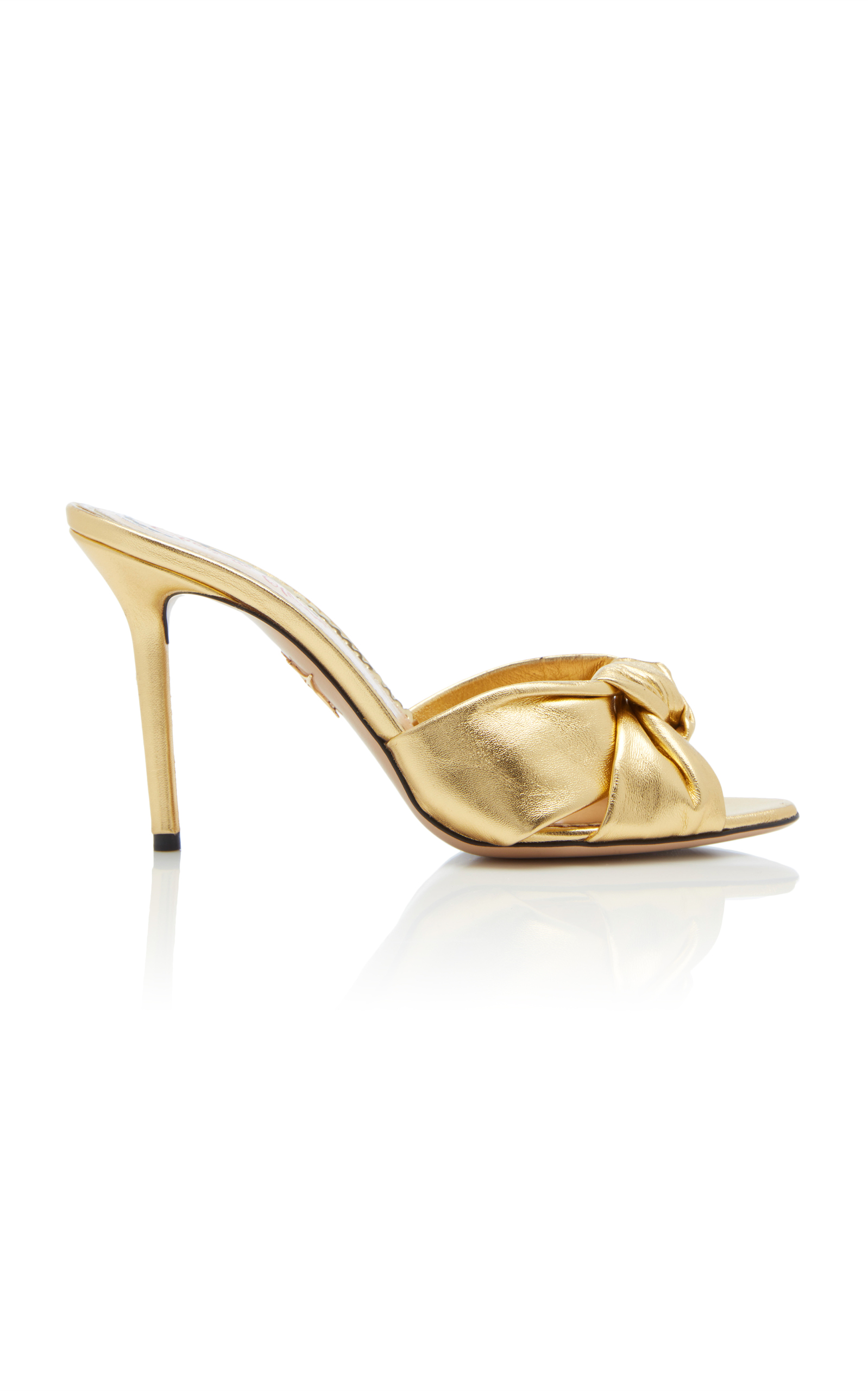 Lola sandals - Metallic Charlotte Olympia O41Cl