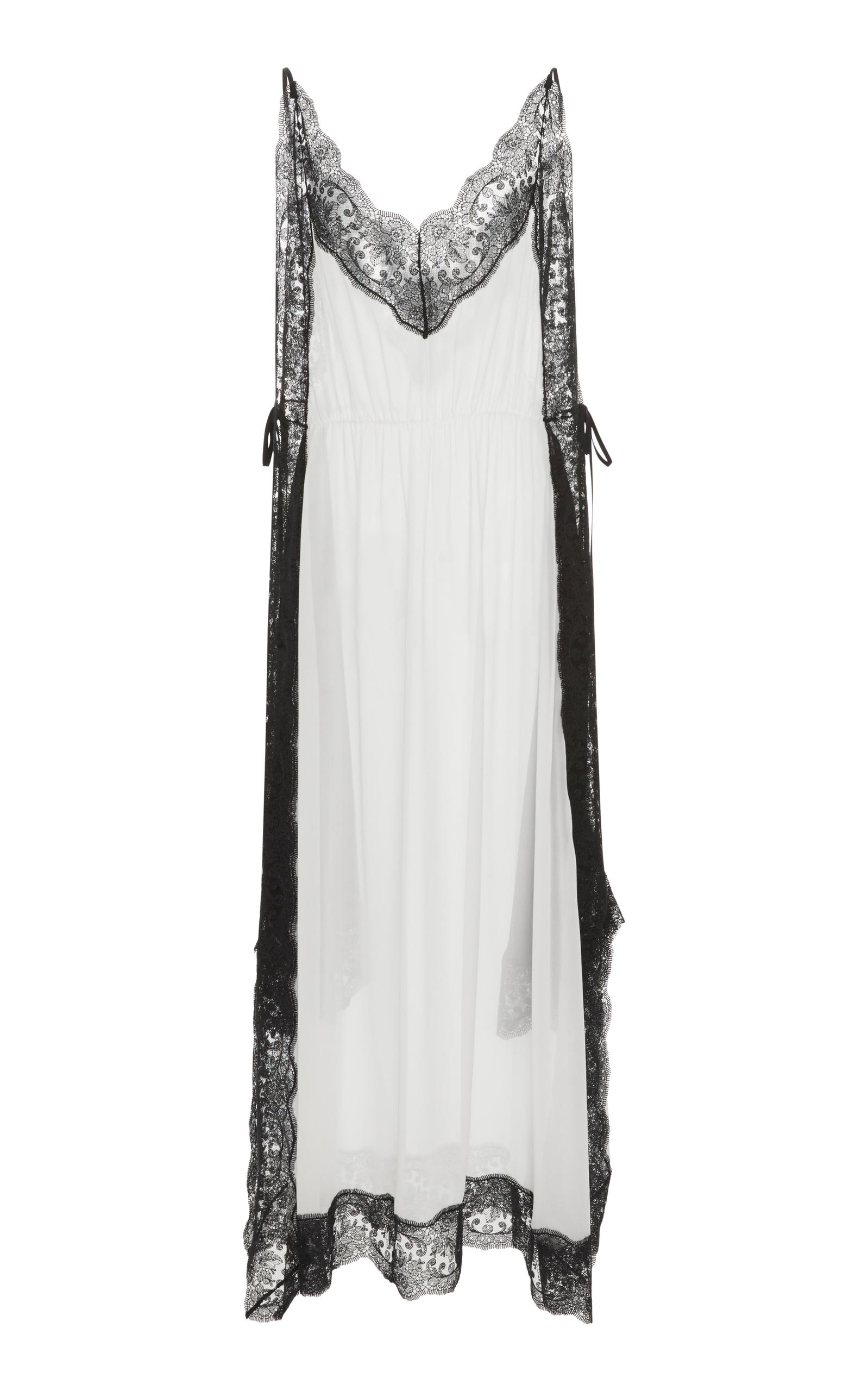 84a78c9d6d02 Lace Trim Cami Dress by Christopher Kane   Moda Operandi