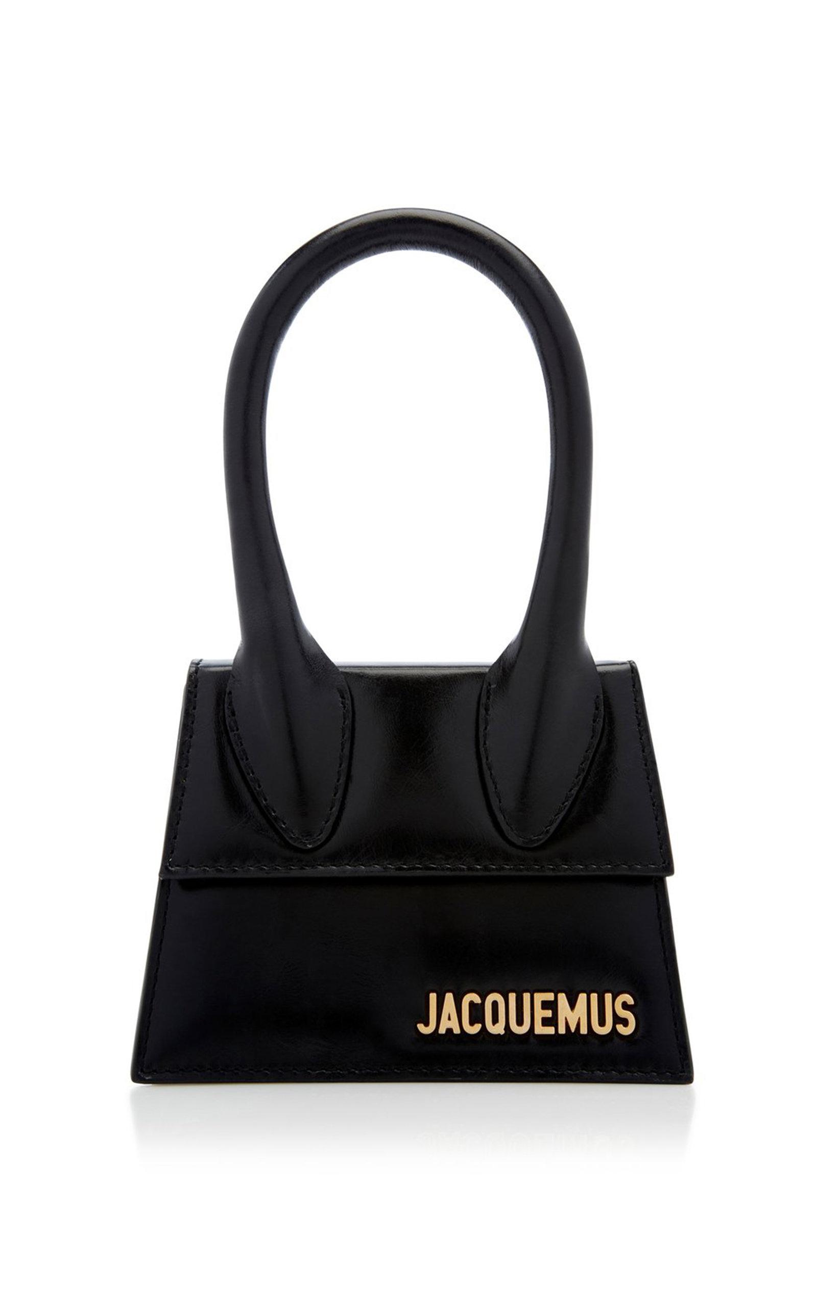 a68d0835e9 Jacquemus Le Sac Chiquito Leather Bag Size Os Women Black