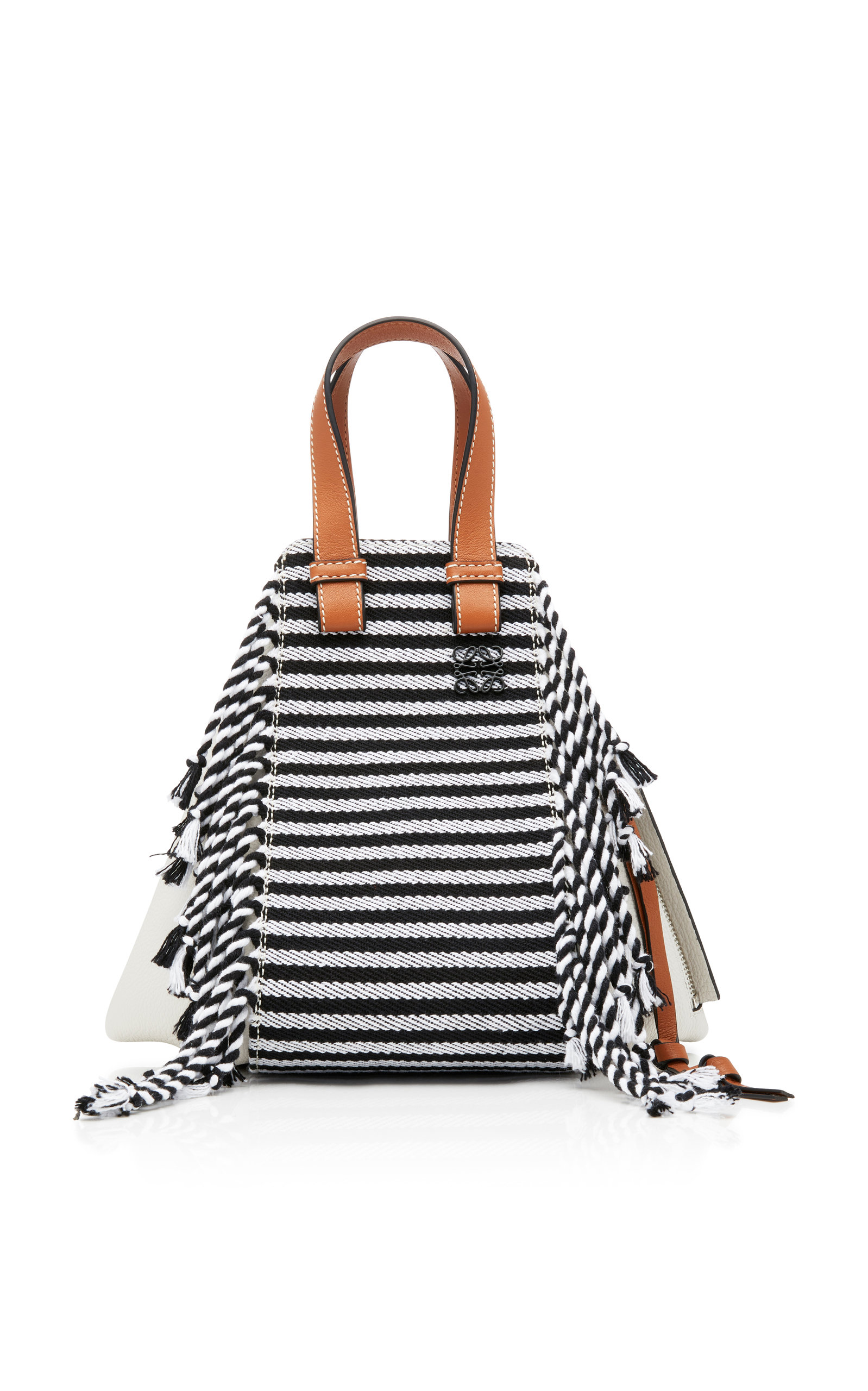 small Hammock scarf bag - White Loewe eikPk1Ba9P