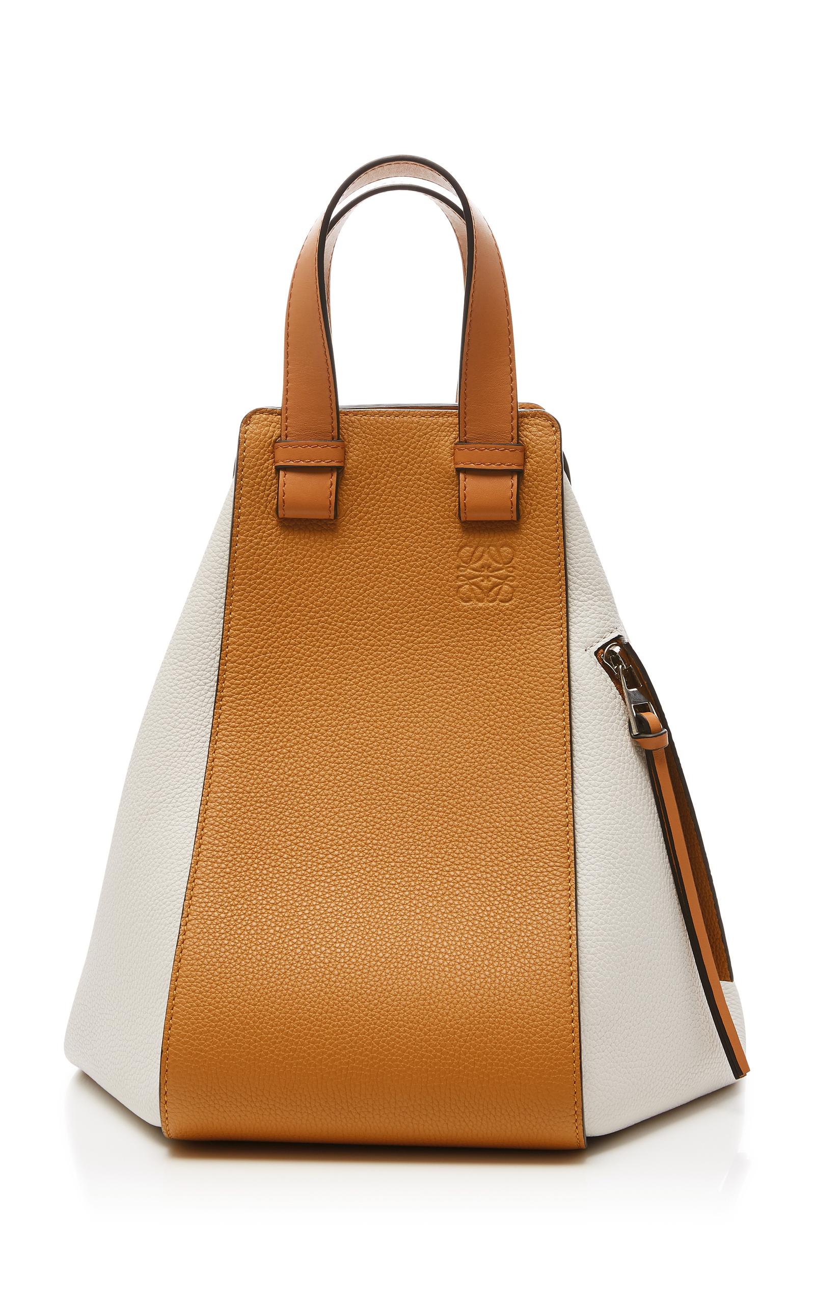 55eda9e4eaf5 LOEWE Hammock Medium Colorblock Leather Satchel Bag