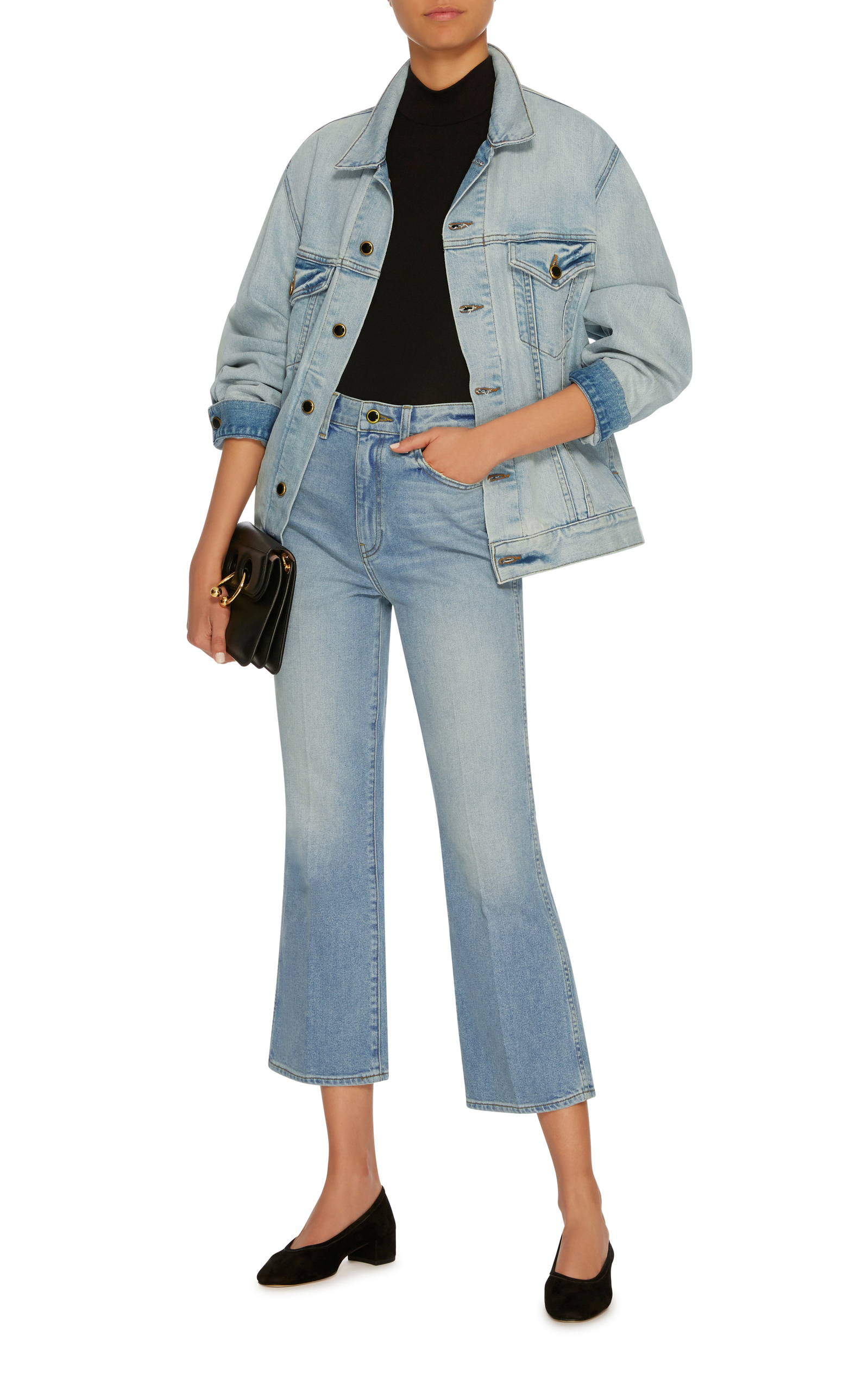 Cate Oversized Denim Jacket Khaite Looking For Outlet Free Shipping Find Great Cheap Price oNvWfZ8iY