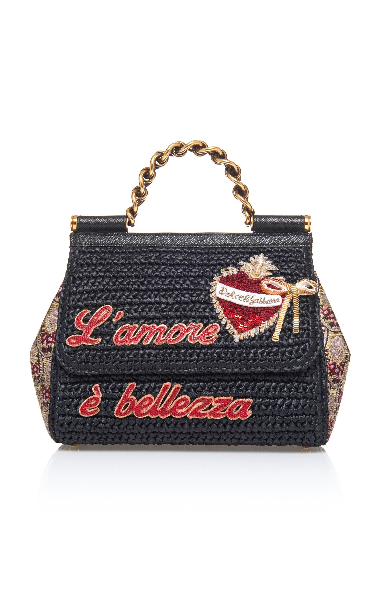 84468b80c5 Dolce   GabbanaMedium Sicily Bag. CLOSE. Loading