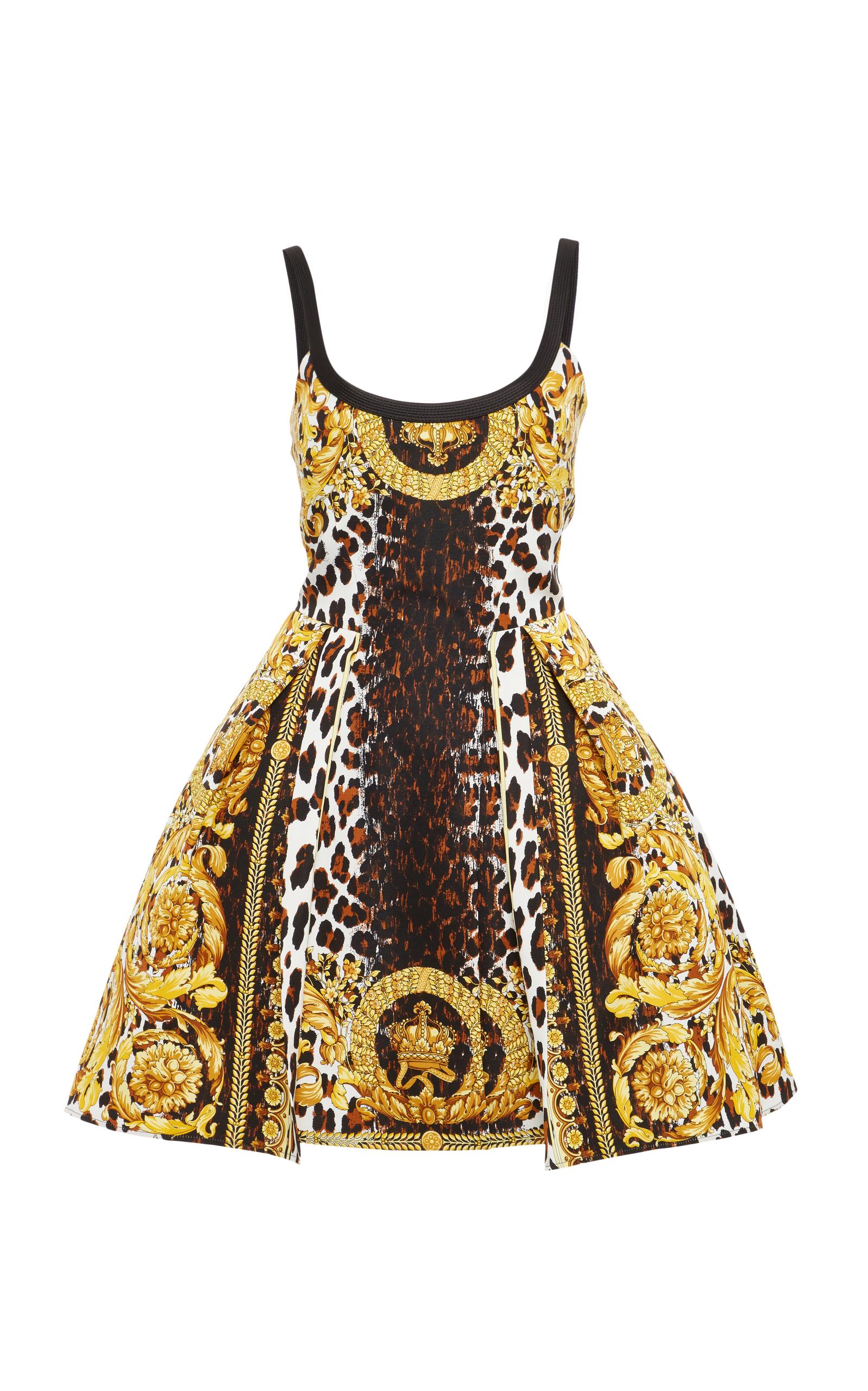 6f1b887d492 VersaceFlounced Printed Dress. CLOSE. Loading