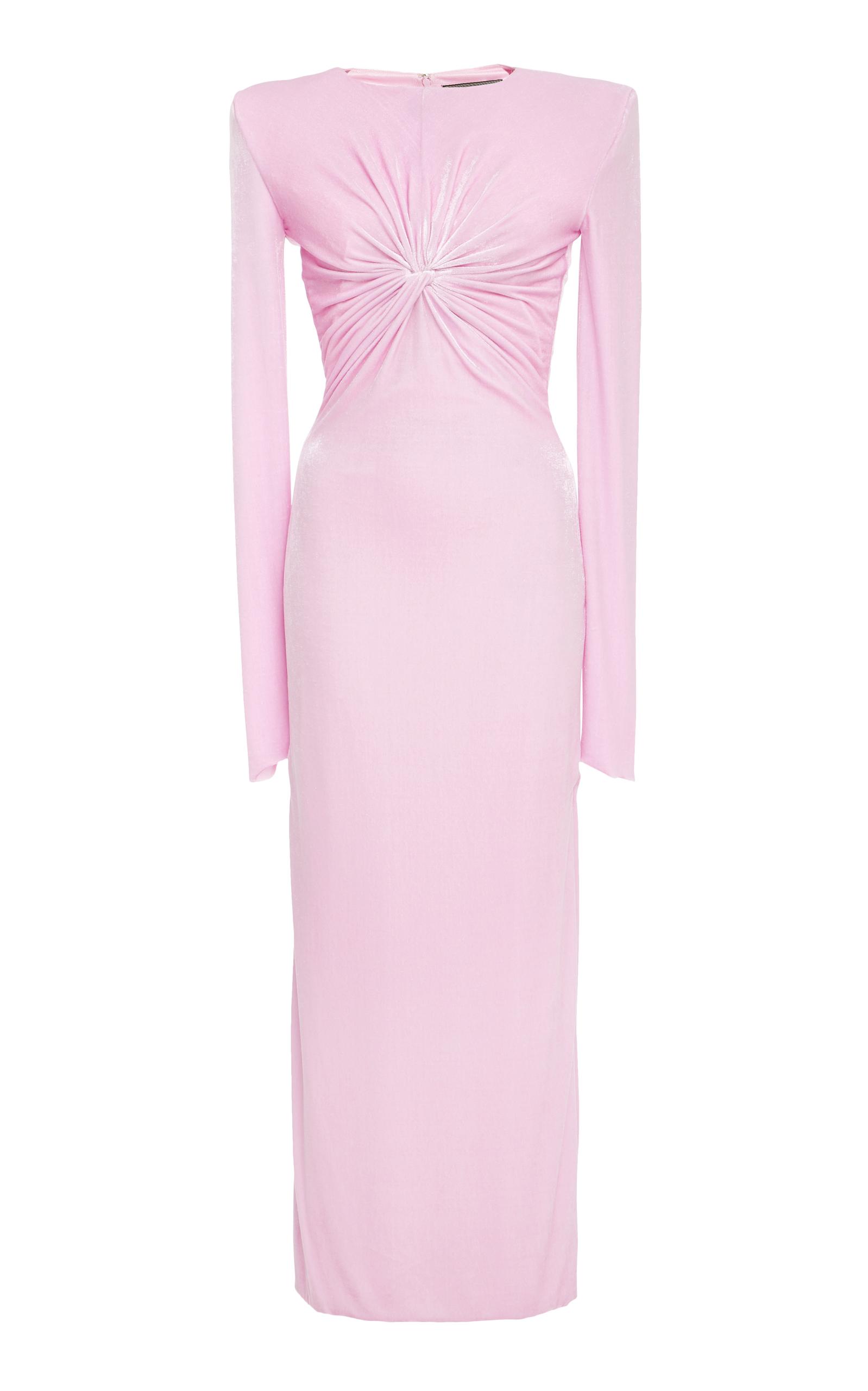 Twisted Knot Chenille Dress by Versace | Moda Operandi