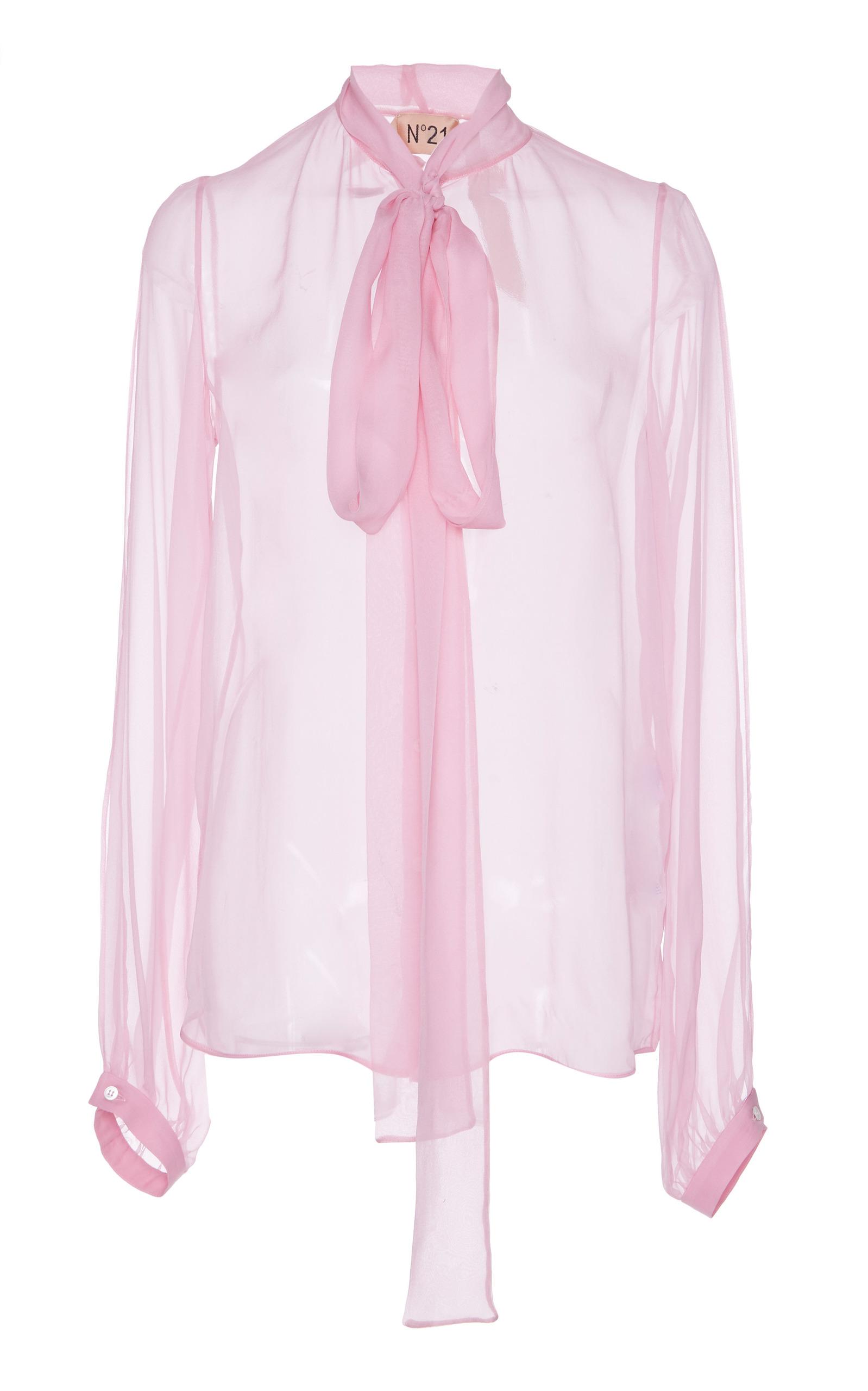 5baaf49ad146f9 Silk Organza Blouse by N°21
