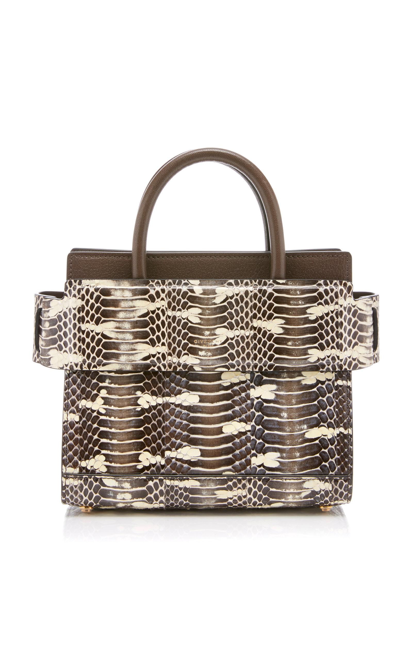 ffac6f1b91 Mini Horizon Leather Bag by Givenchy