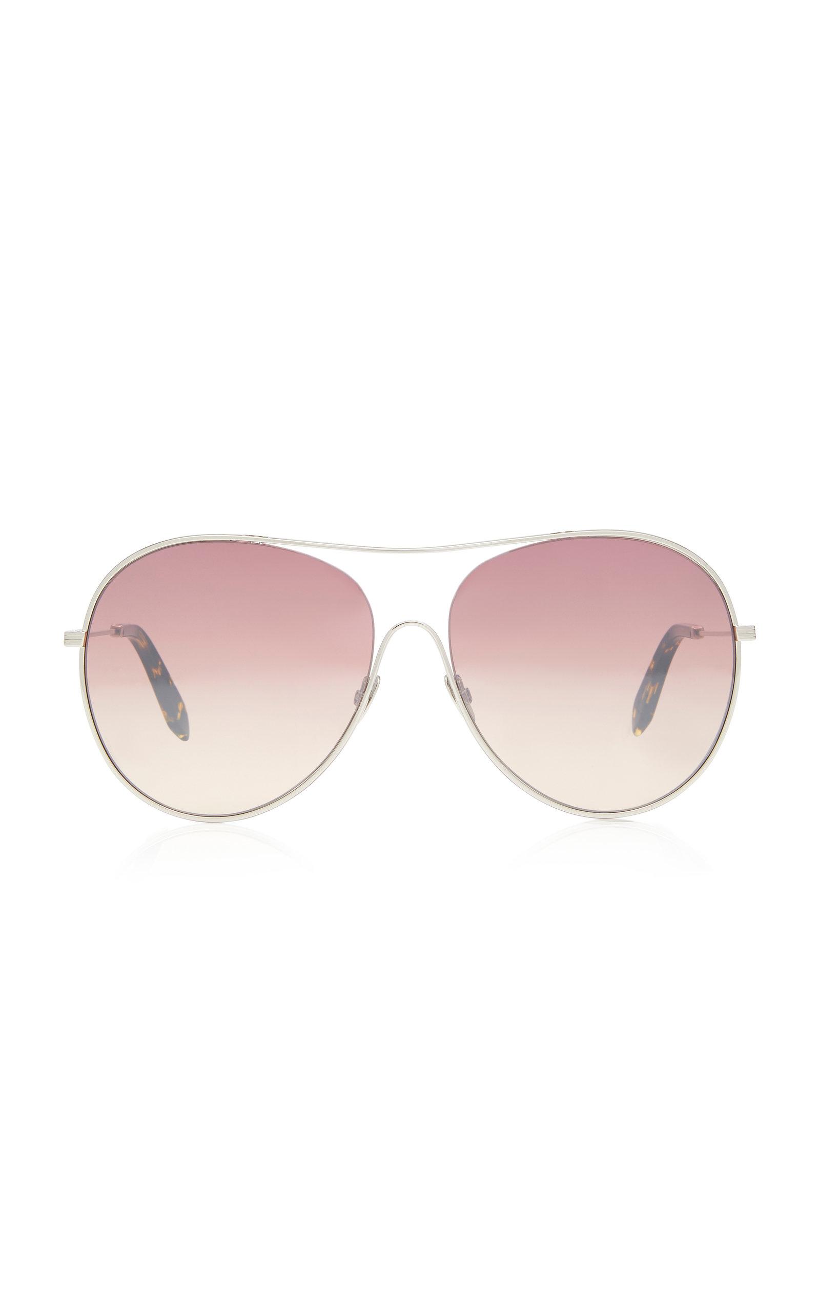 VICTORIA BECKHAM | Victoria Beckham Round-Frame Acetate Sunglasses | Goxip