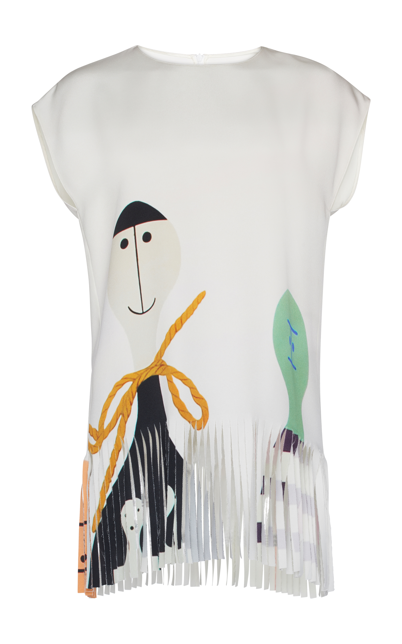 b05c7526aa150 Wooden Doll Tunic Blouse by Akris