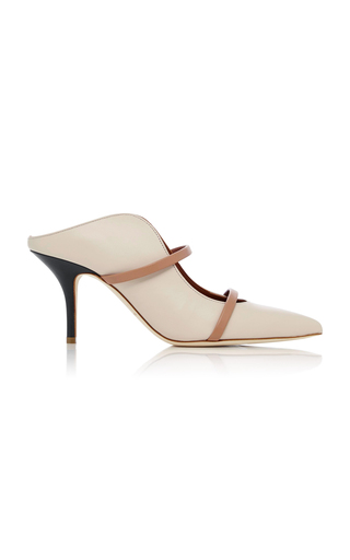 Penelope Paneled Leather Pumps Malone Souliers KSCf4
