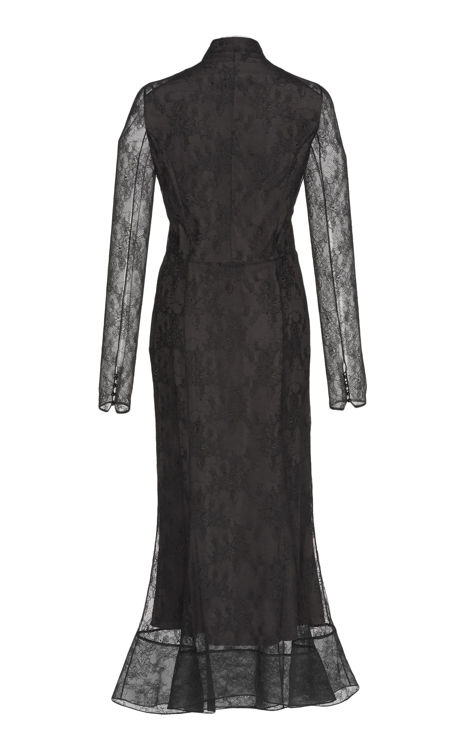 Long Sleeved Cocktail Dress by Olivier Theyskens | Moda Operandi