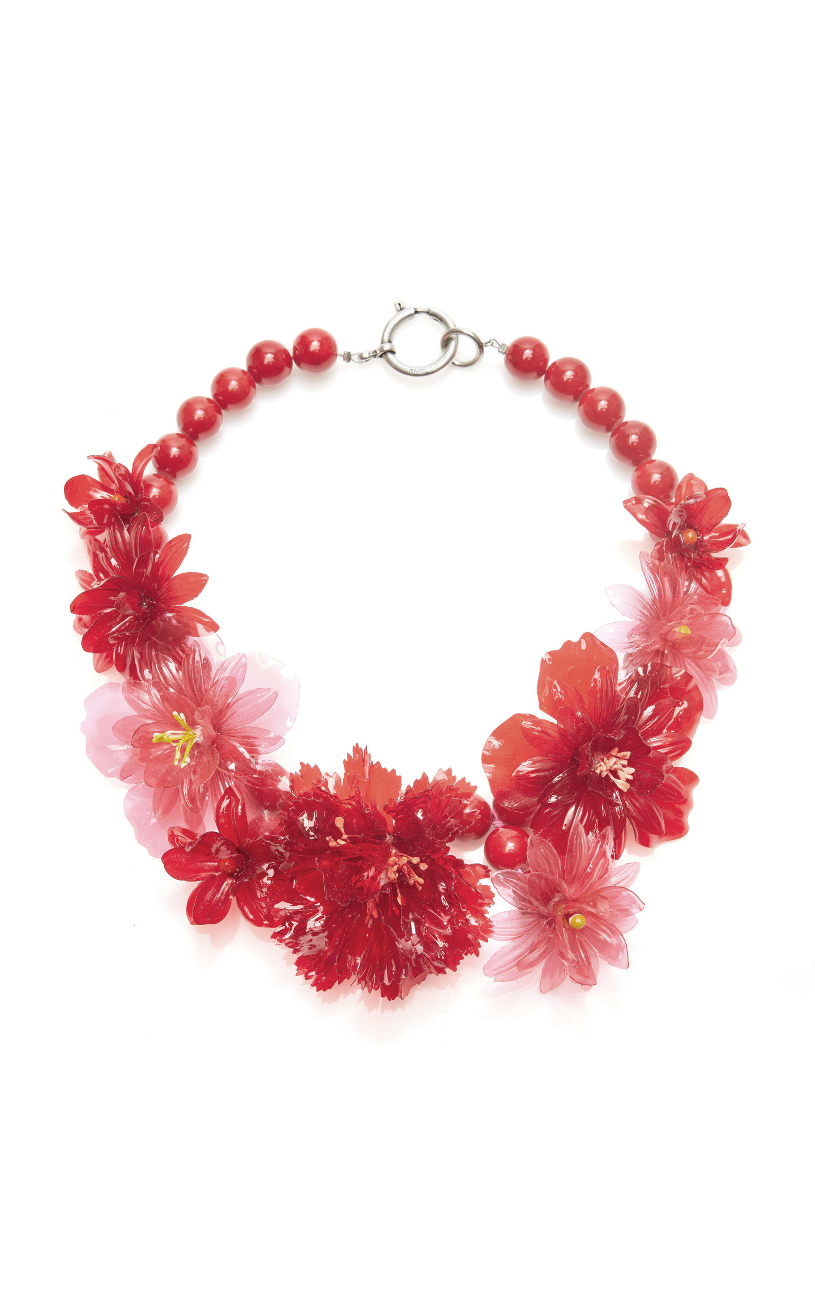 Isabel Marant Honolulu flower necklace QIeon