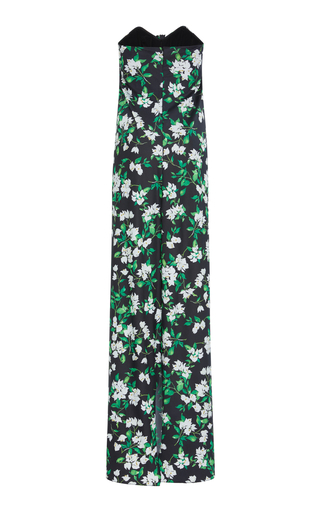 MO Exclusive Kaia Bougainvillea Front Tie Maxi Dress Caroline Constas