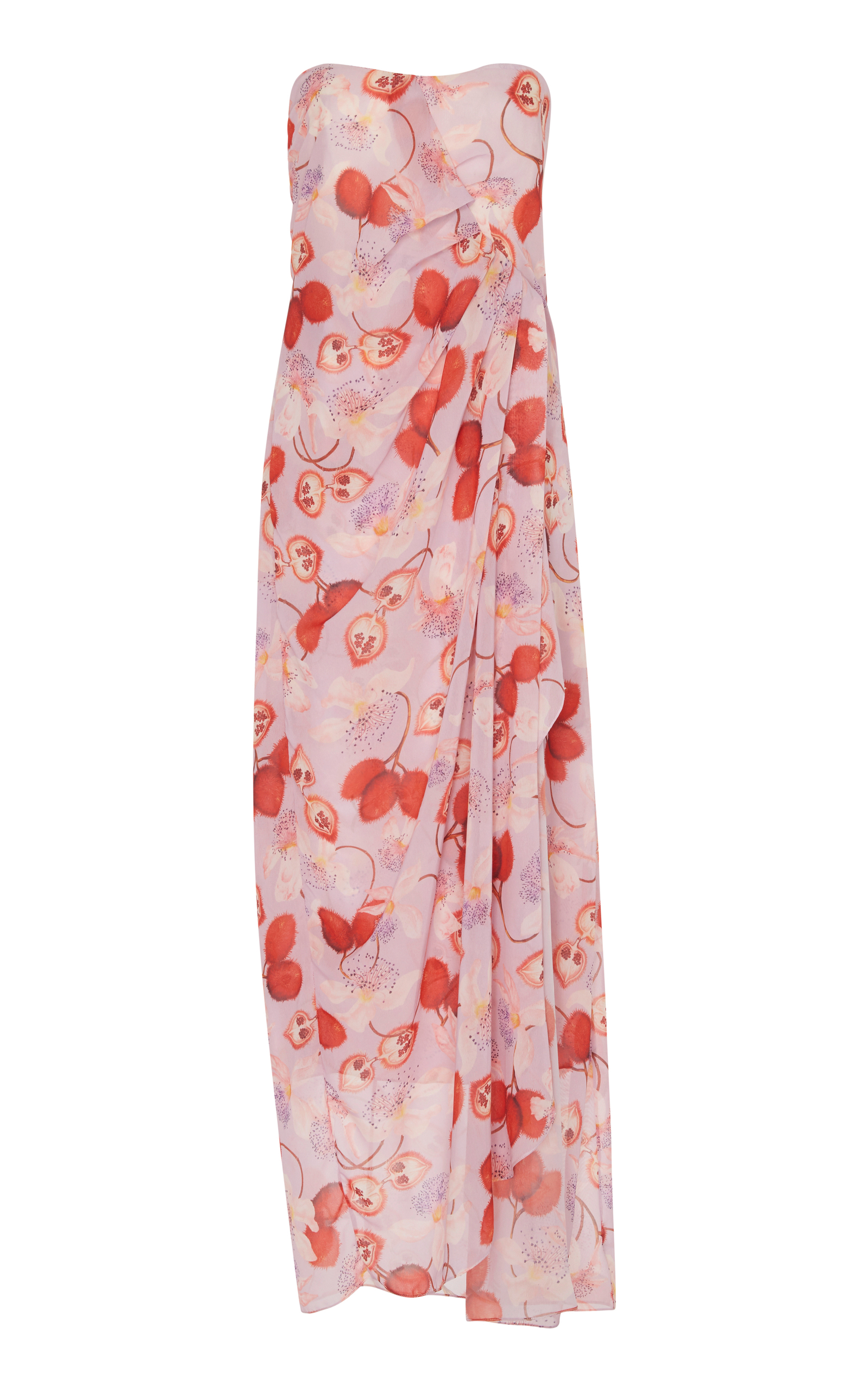 Bela Maxi Dress in Pink